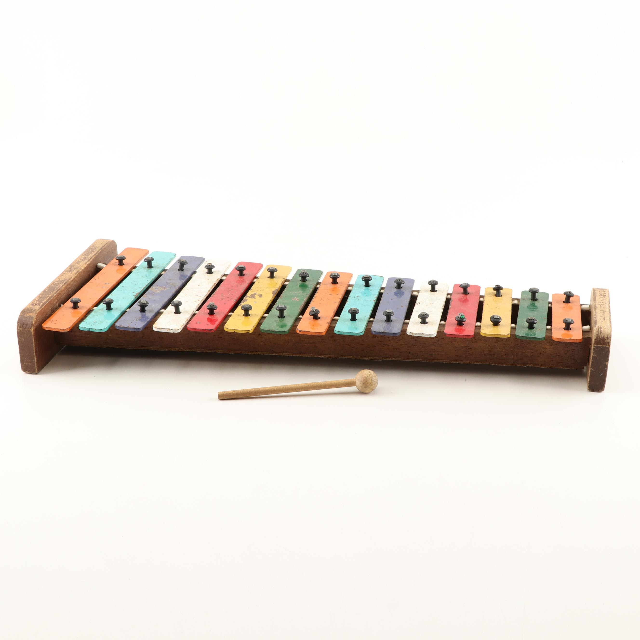 Child's Xylaphone and Mallet