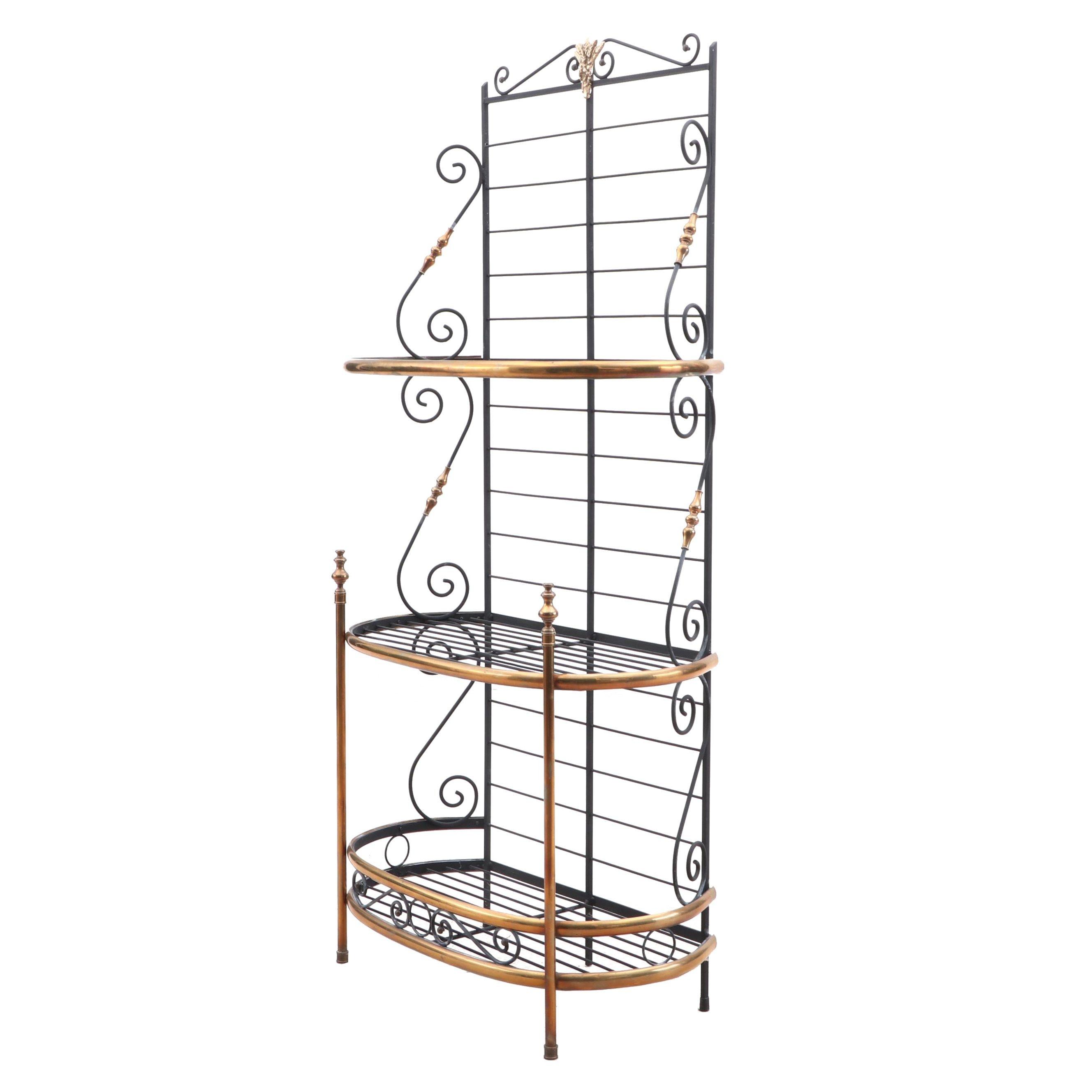 Contemporary Metal Display Rack