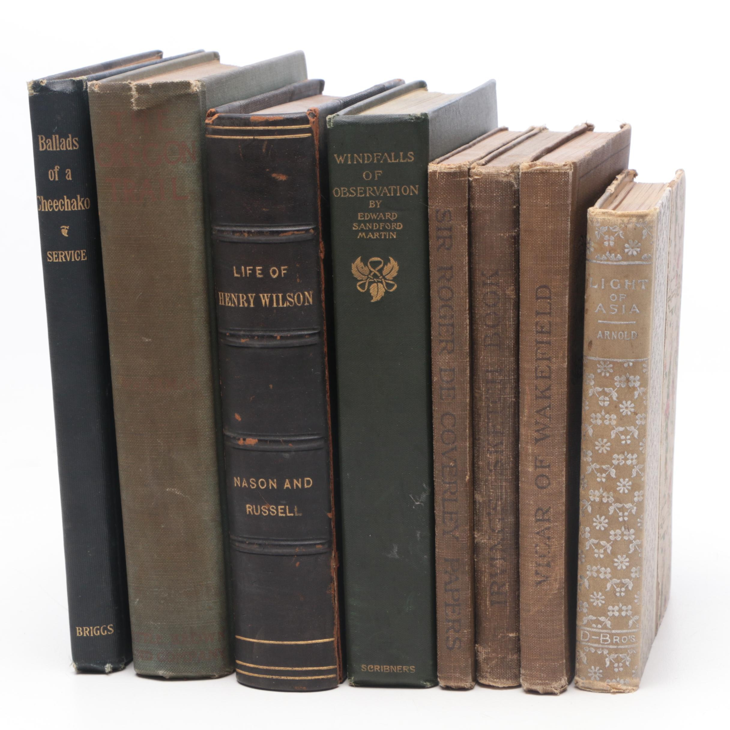 Group of Antique Hardcover Books