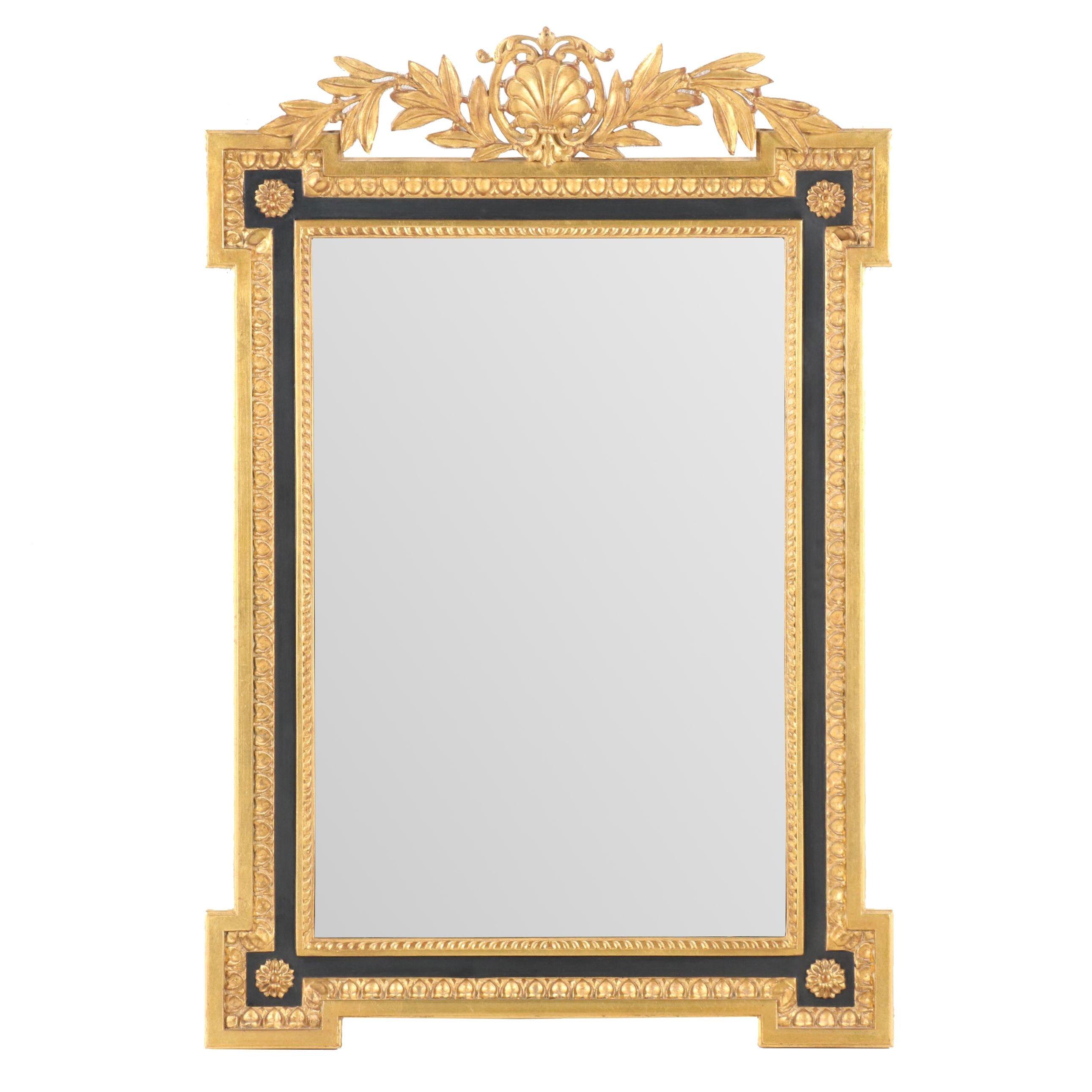Carvers' Guild Gilt Regency Style Wall Mirror
