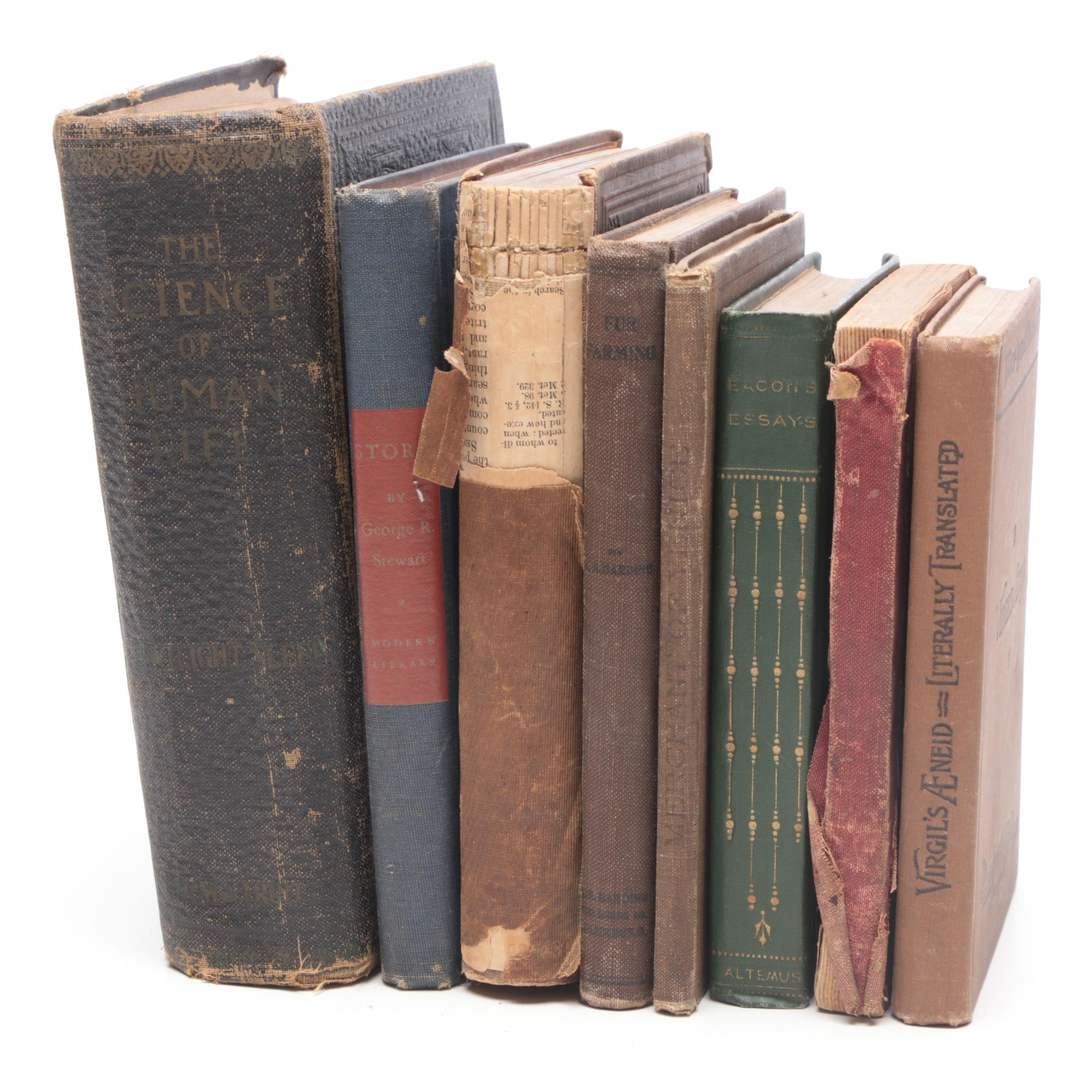 Group of Vintage and Antique Hardcover Books