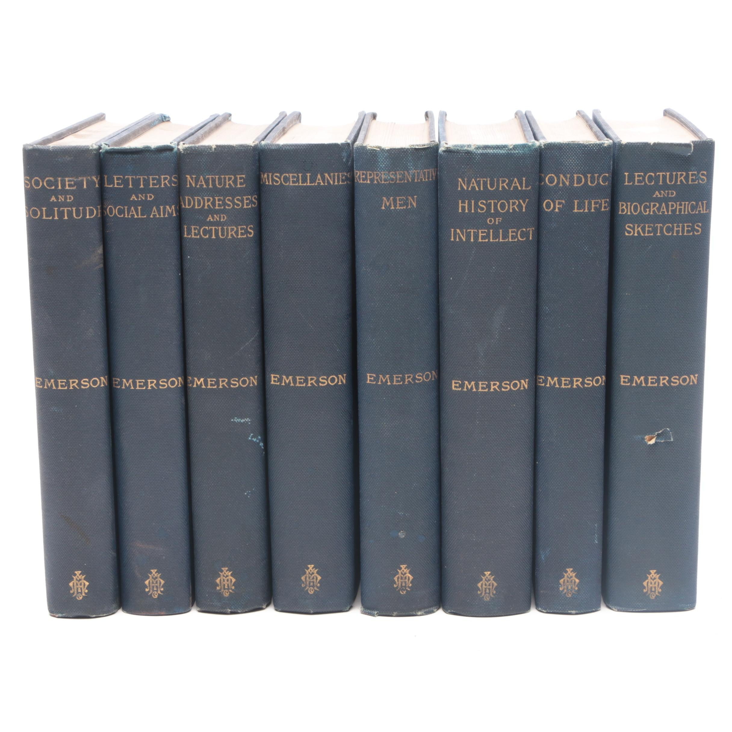 Antique Works of Ralph Waldo Emerson