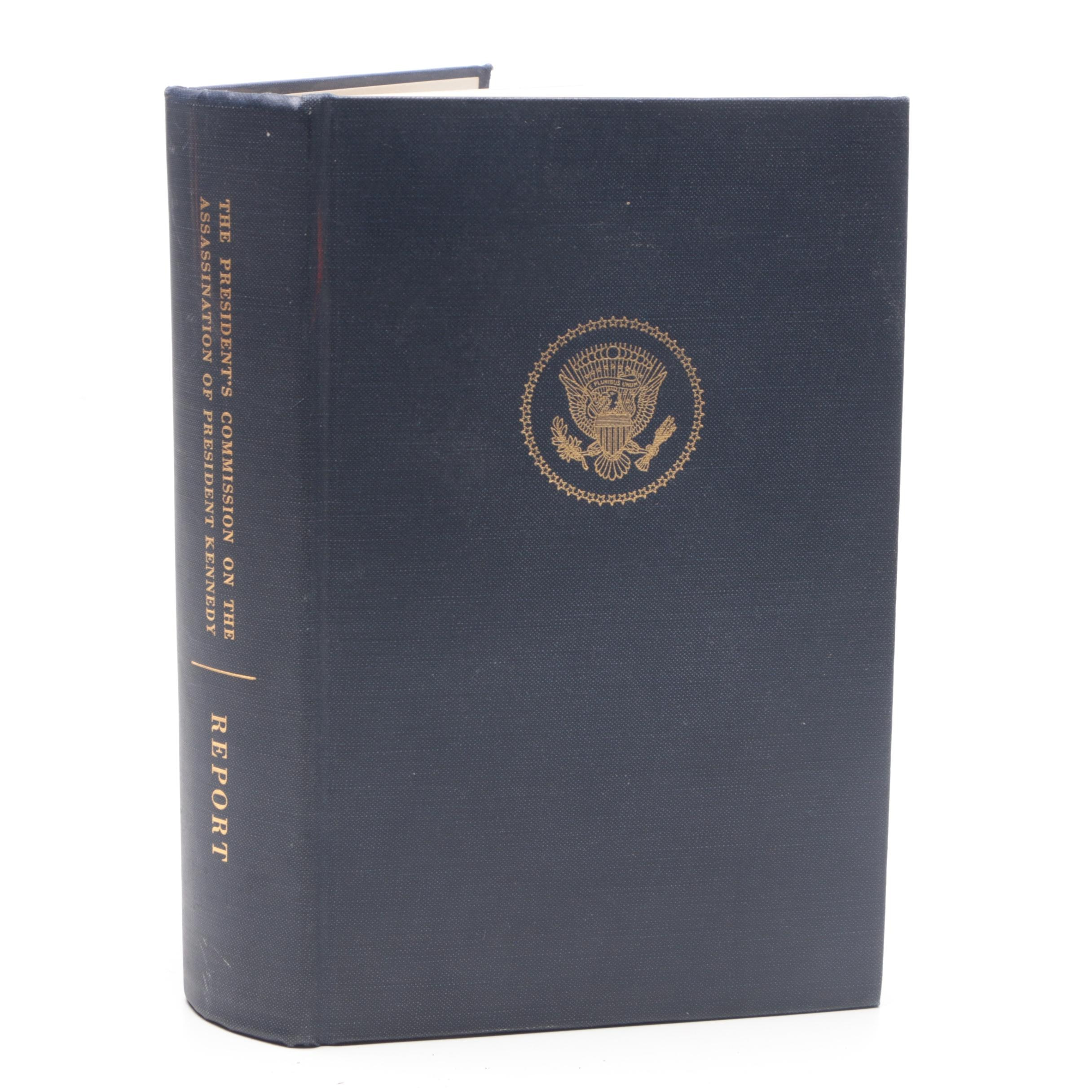 """1964 """"The President's Commission on the Assassination of President Kennedy"""" Book"""