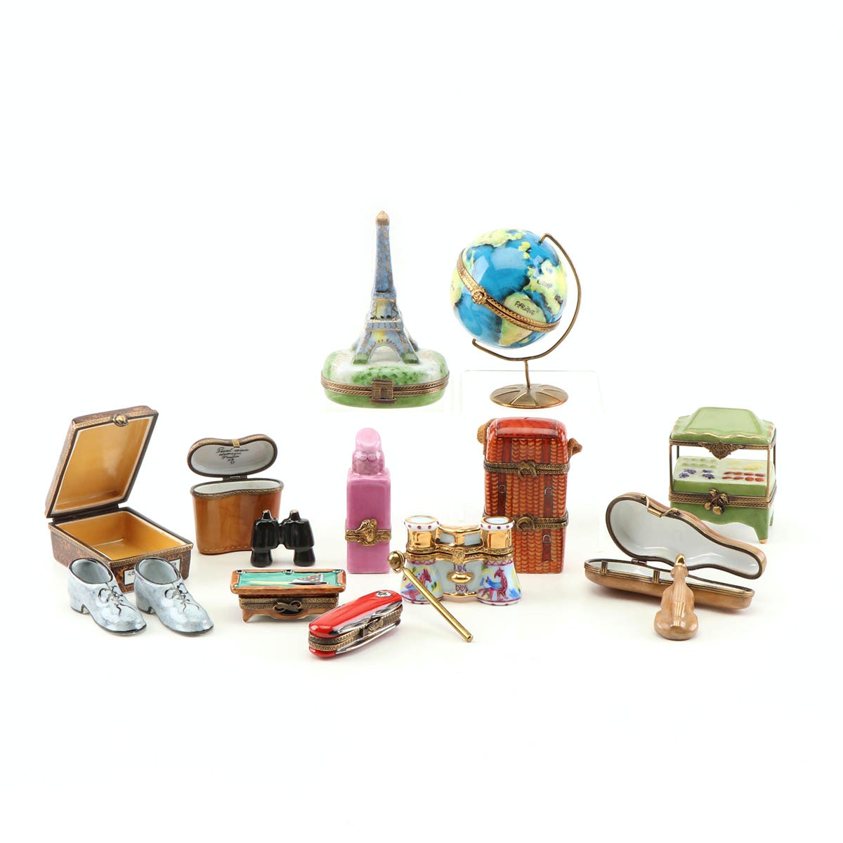 Collectible Limoges Pill Boxes