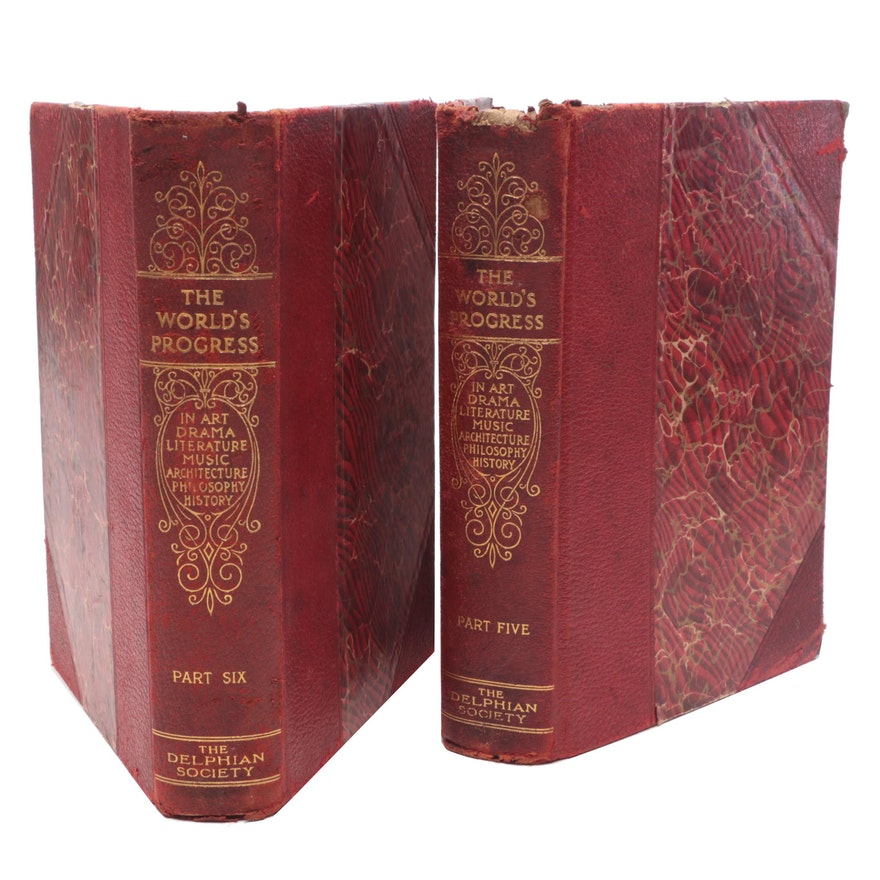 "1911 ""The World's Progress"" in Hardcover"