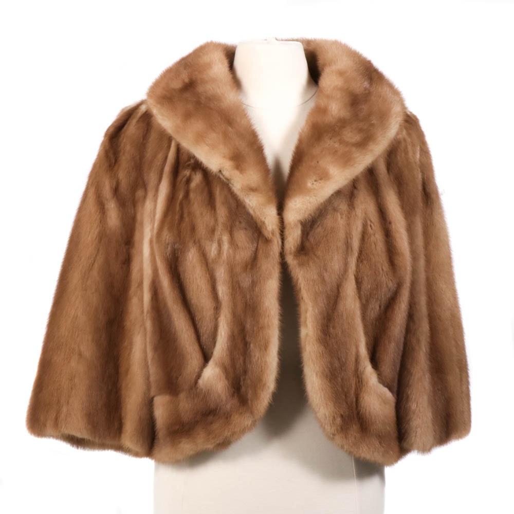 Morristown Furriers Pastel Mink Jacket