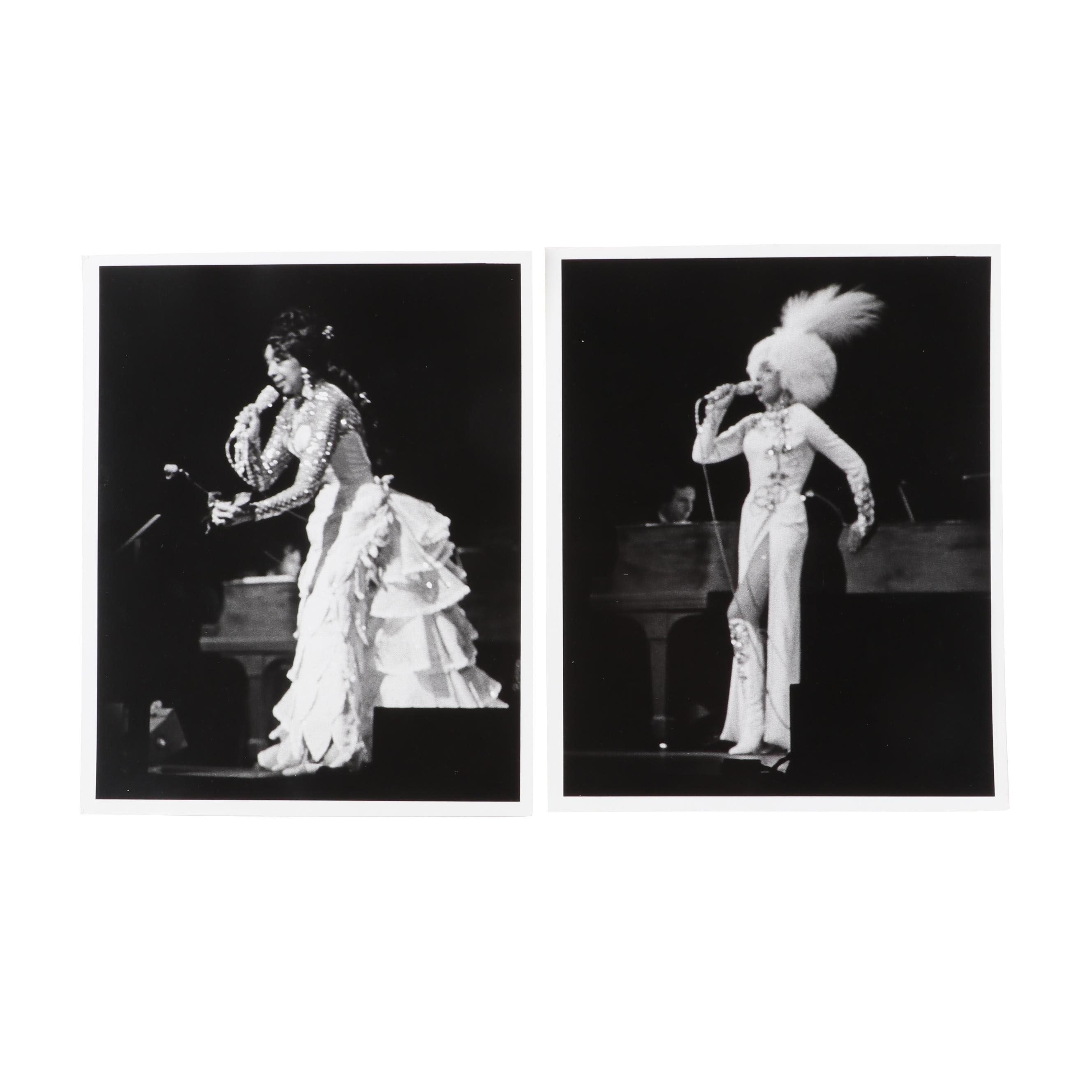 Josephine Baker French Jazz Icon Original Live Show Photos, Jack Bradley Estate