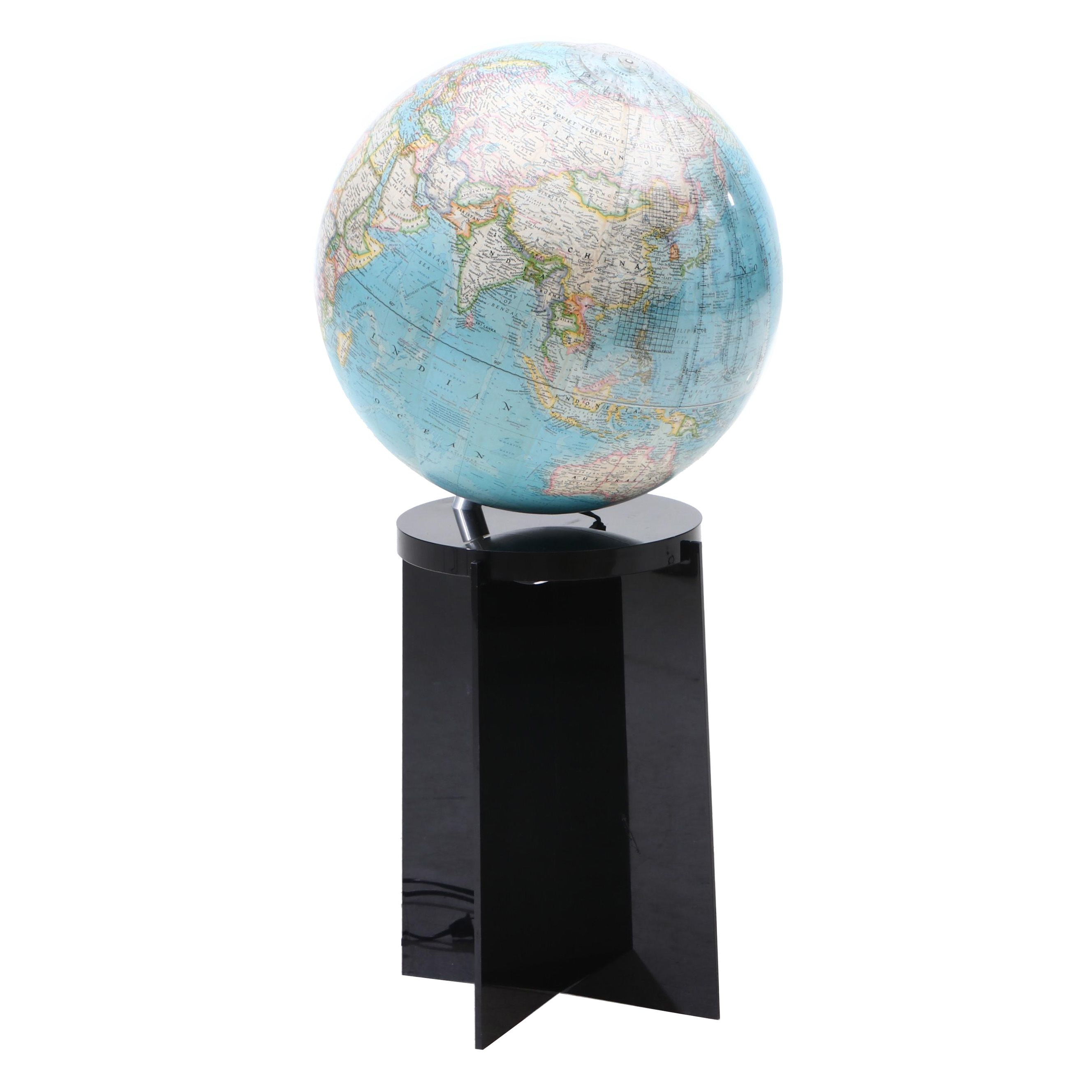 "National Geographic Illuminated ""Geometer"" Globe with Stand"
