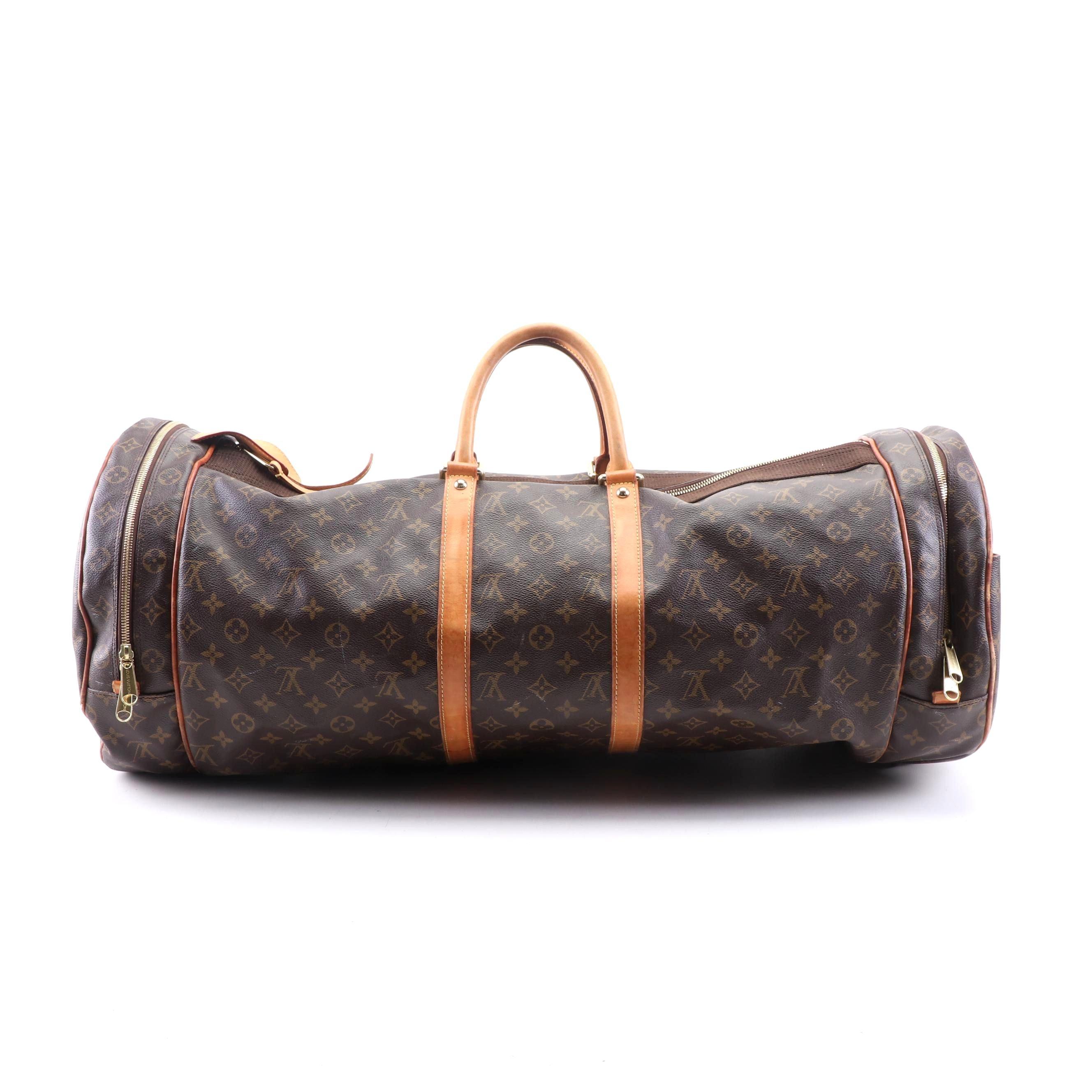Louis Vuitton Paris Monogram Canvas Sac Athletisme Duffle Bag