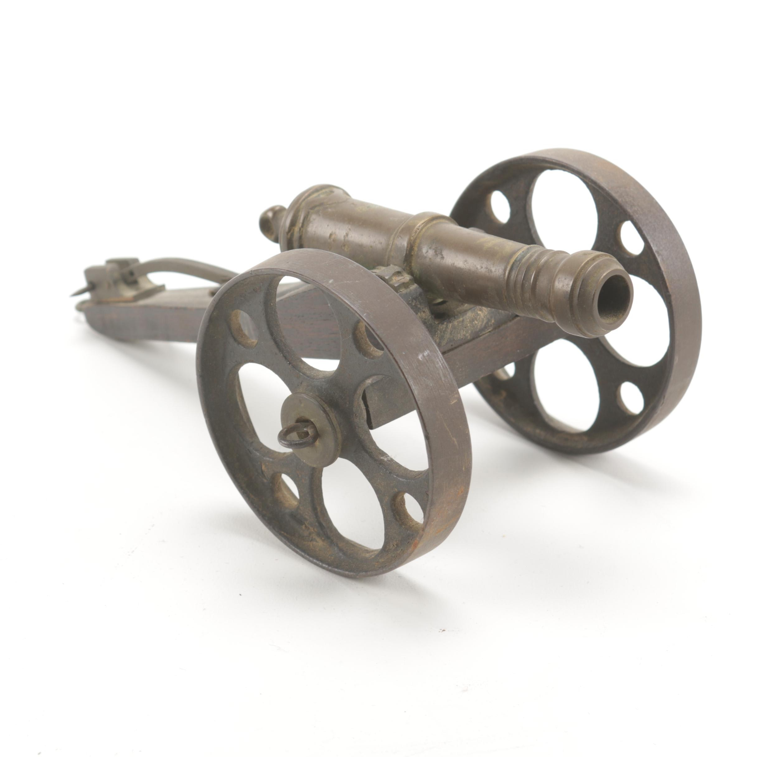 Scale Model Brass Field Cannon