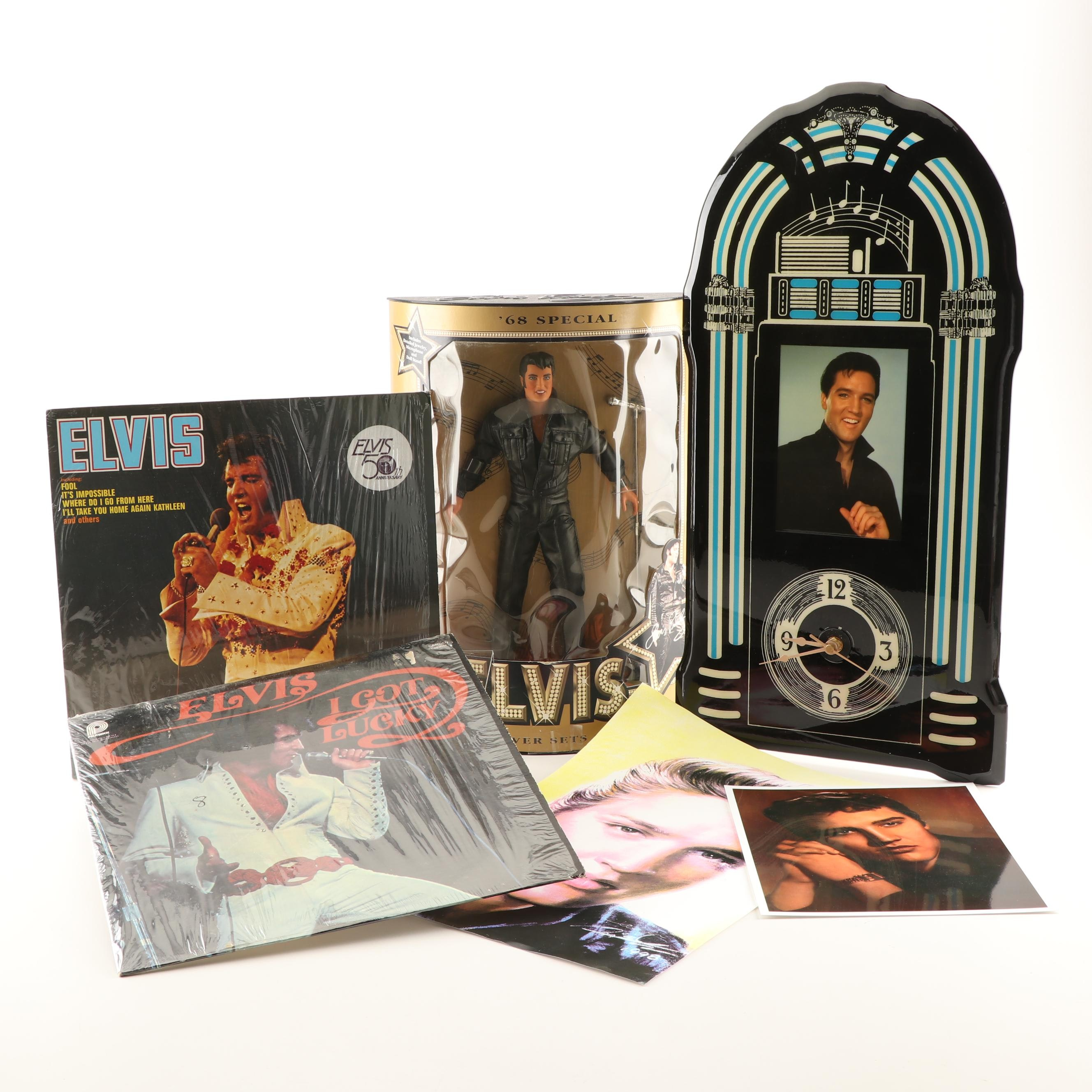 Elvis Presley Collectibles and Memorabilia