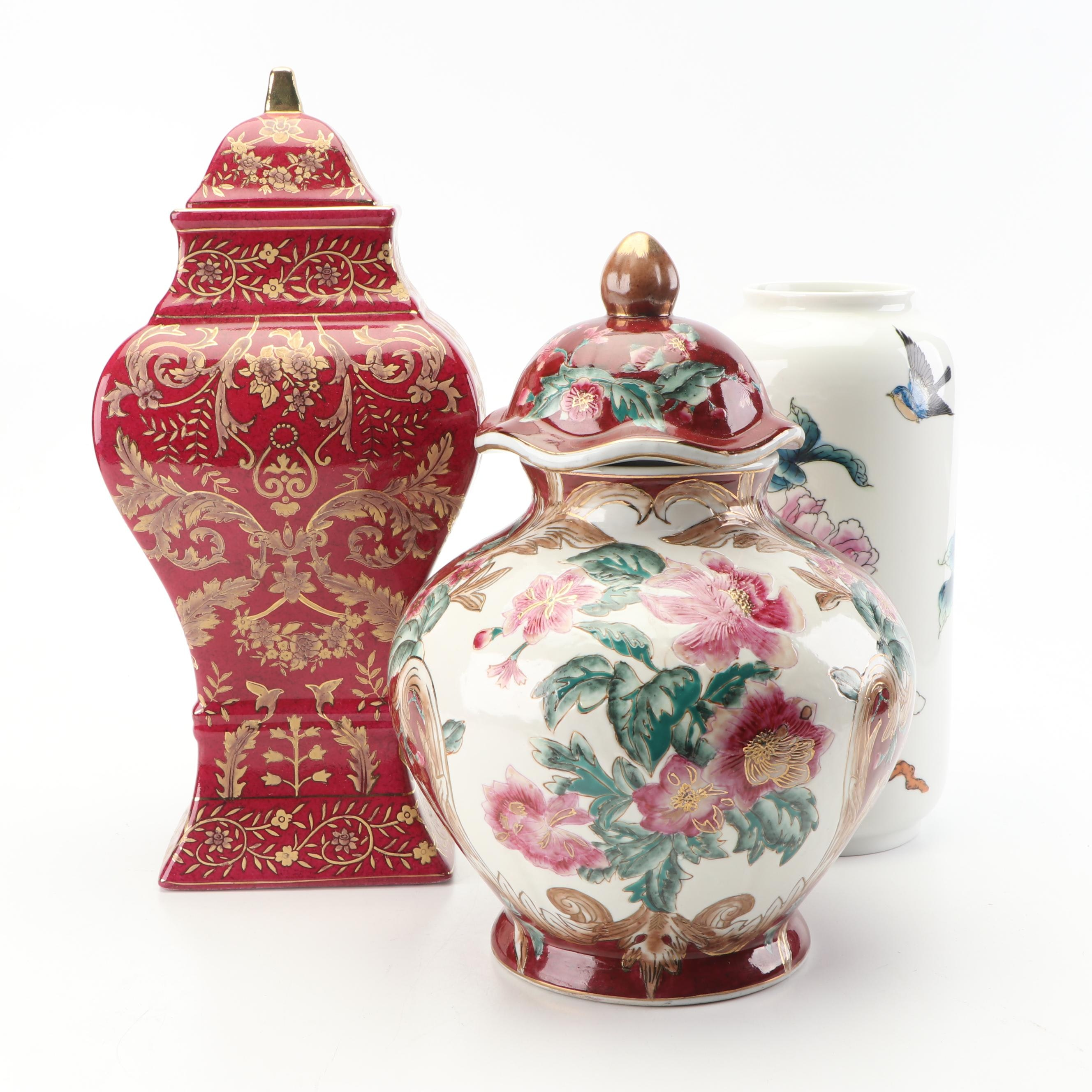 Chinese Decorative Jars and Vase