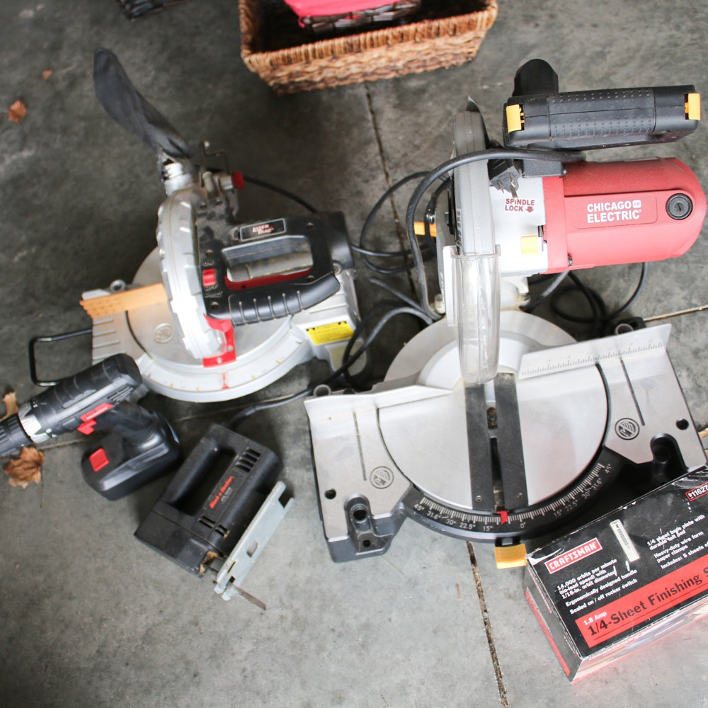 Craftsman, Black + Decker, and More Power Tools