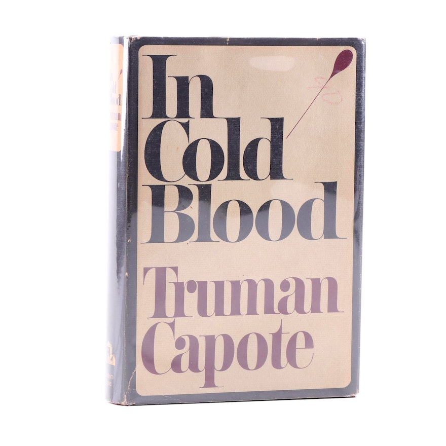 "1965 First Book Club Edition ""In Cold Blood"" by Truman Capote"