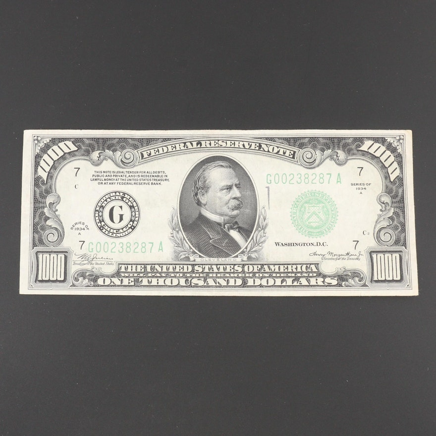 Coins, Currency, Southwestern Jewelry & Stamps