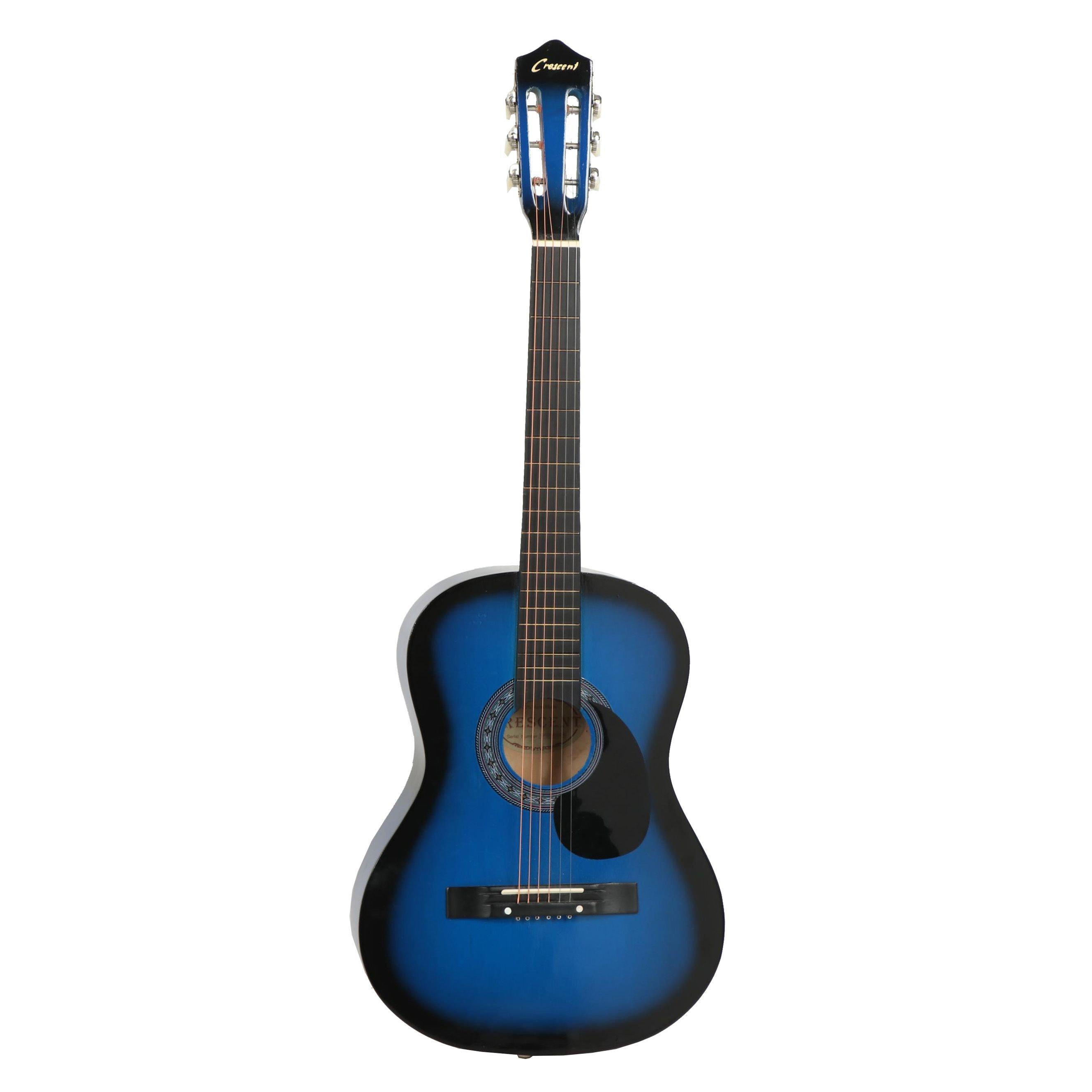 Crescent Acoustic Guitar