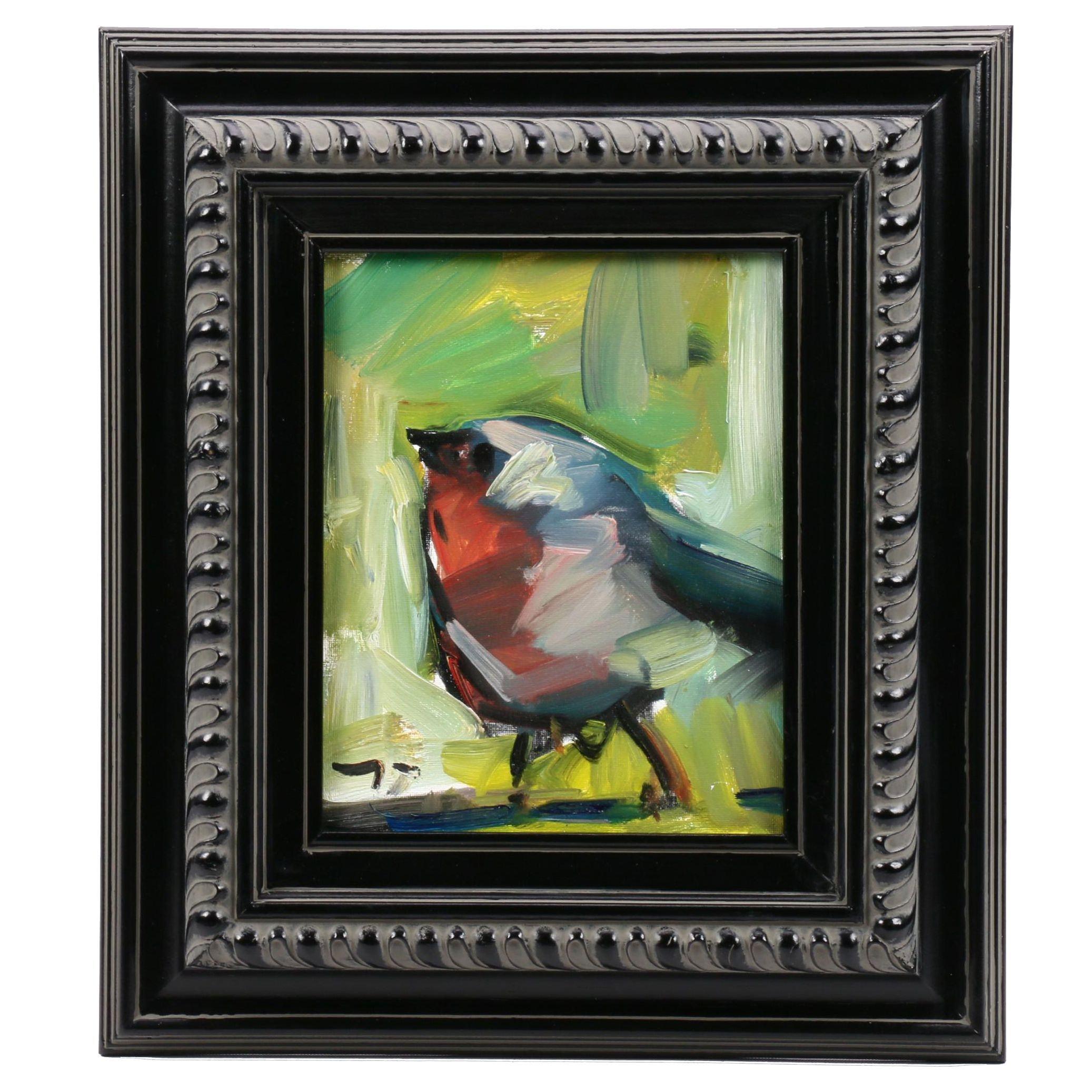 Jose Trujillo Oil Painting of a Bird