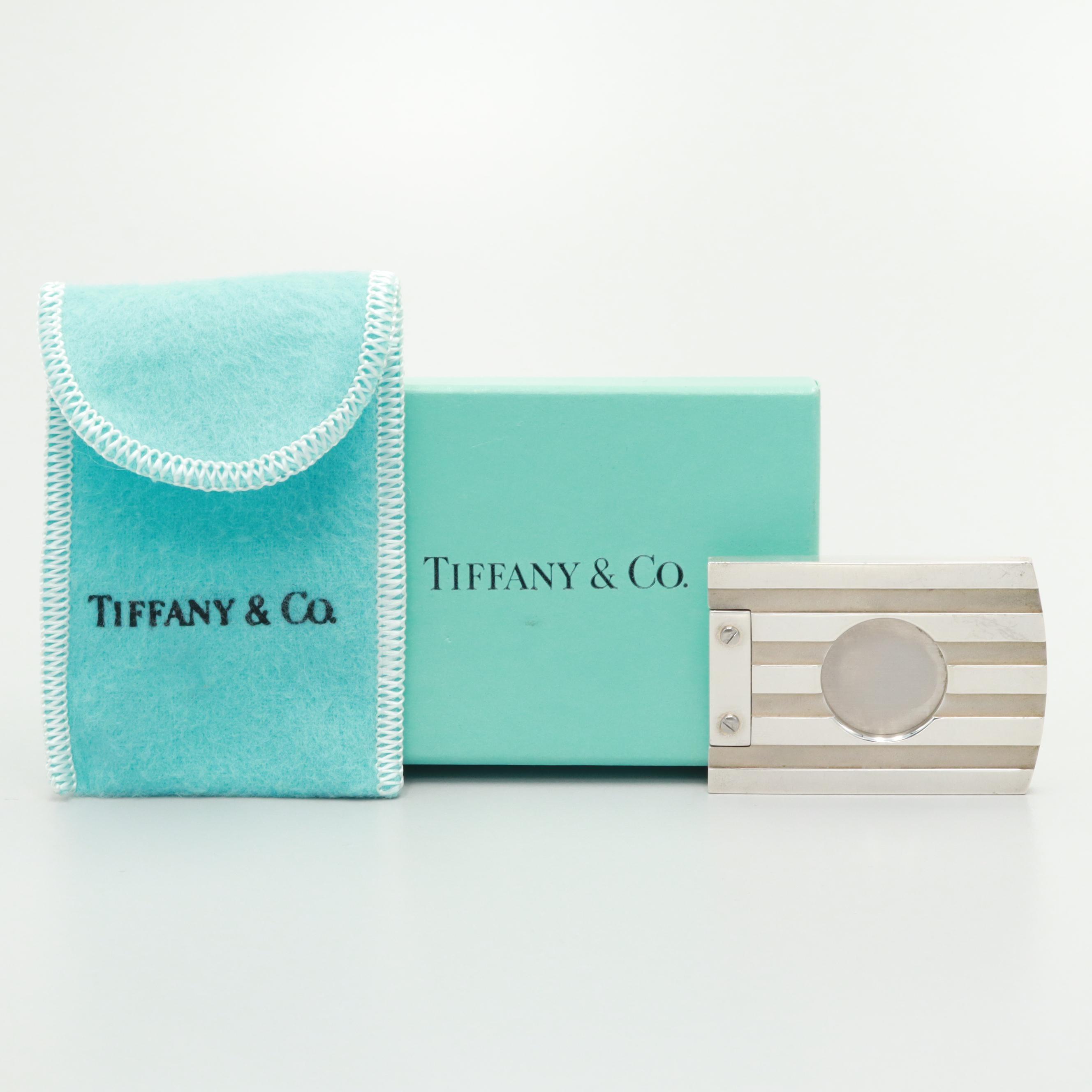 Tiffany & Co. Sterling Silver Cigar Cutter