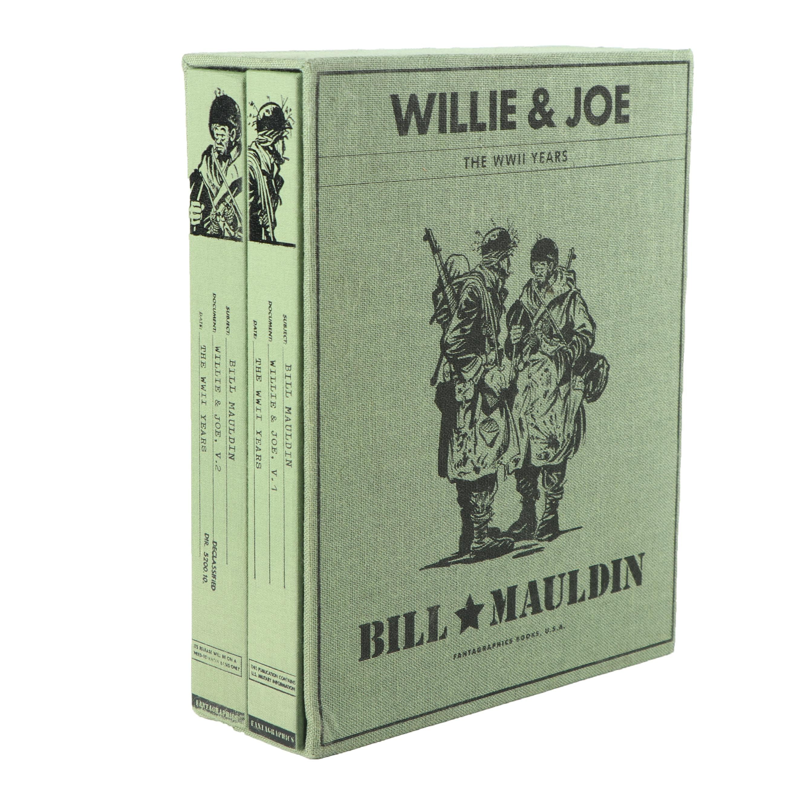 """Willie & Joe: The WWII Years"" Volumes 1 & 2 by Bill Mauldin"