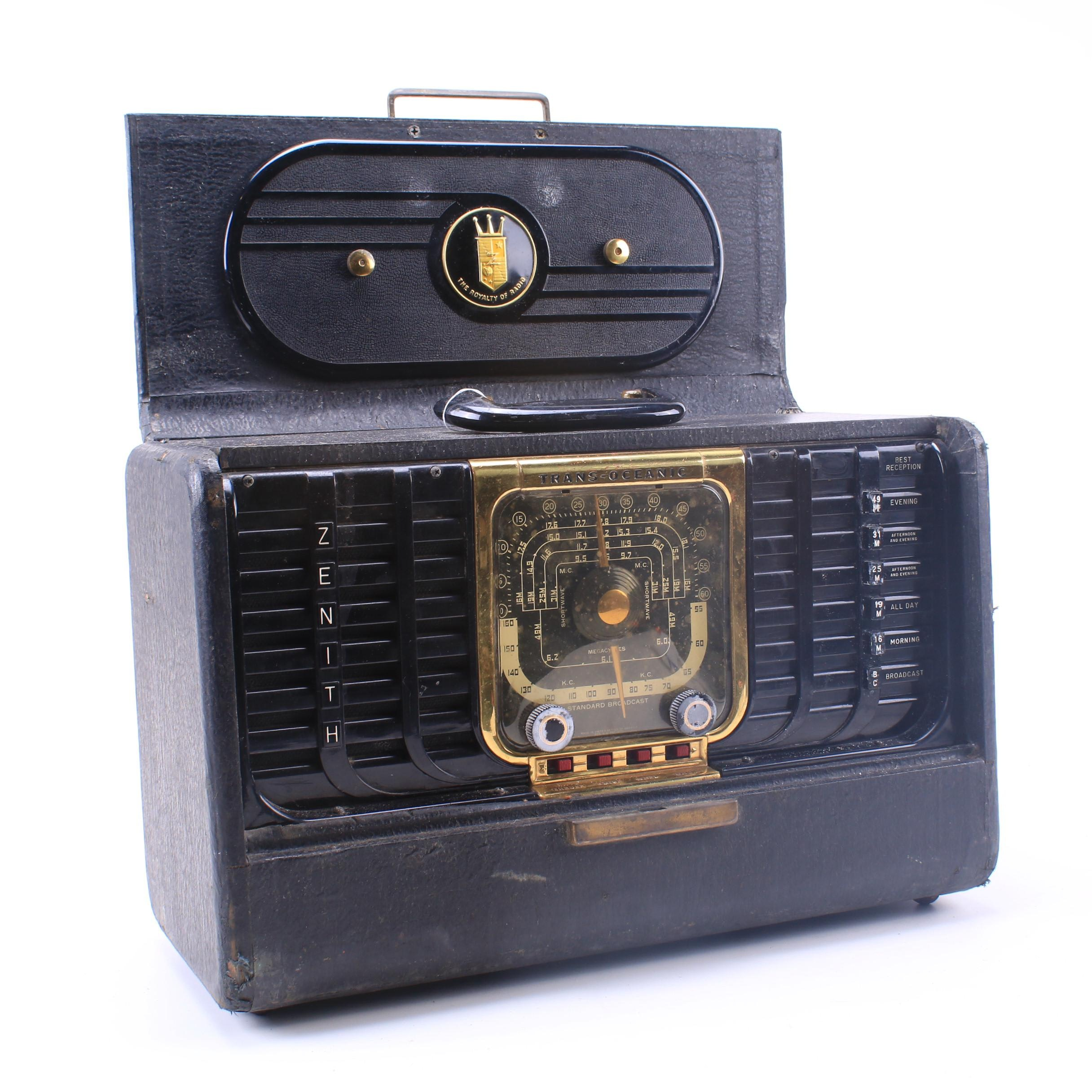 Zenith G500 TransOceanic Radio