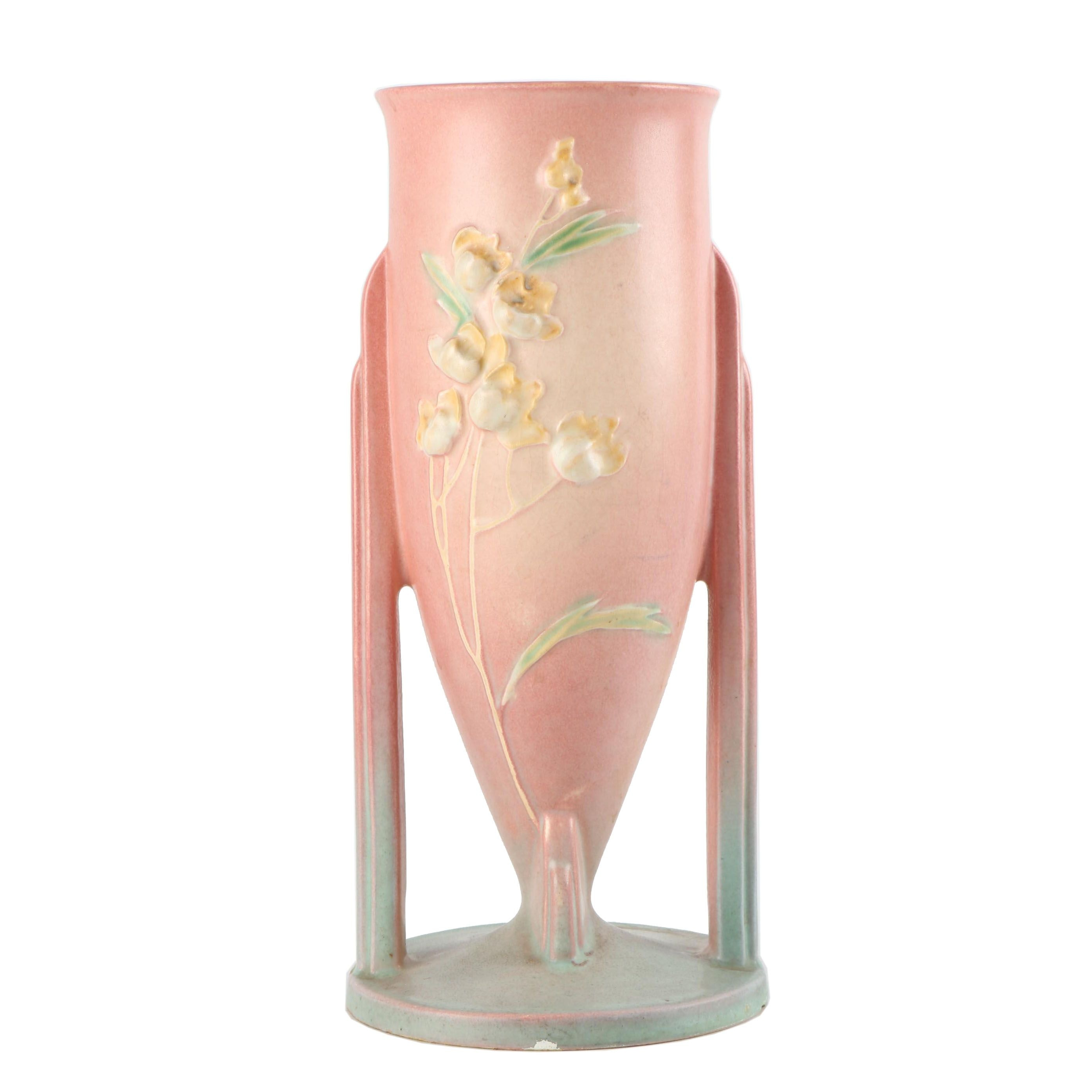 "Roseville Pottery ""Ixia"" Art Pottery Vase, 1930s"