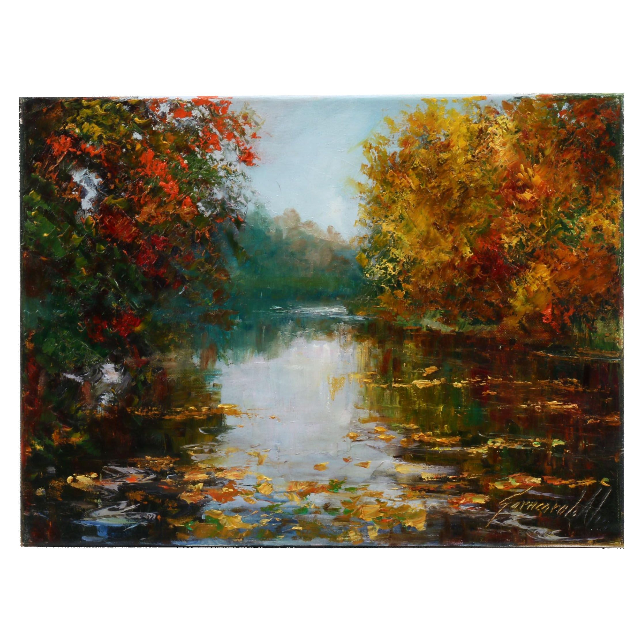 Garncarek Aleksander Landscape Oil Painting
