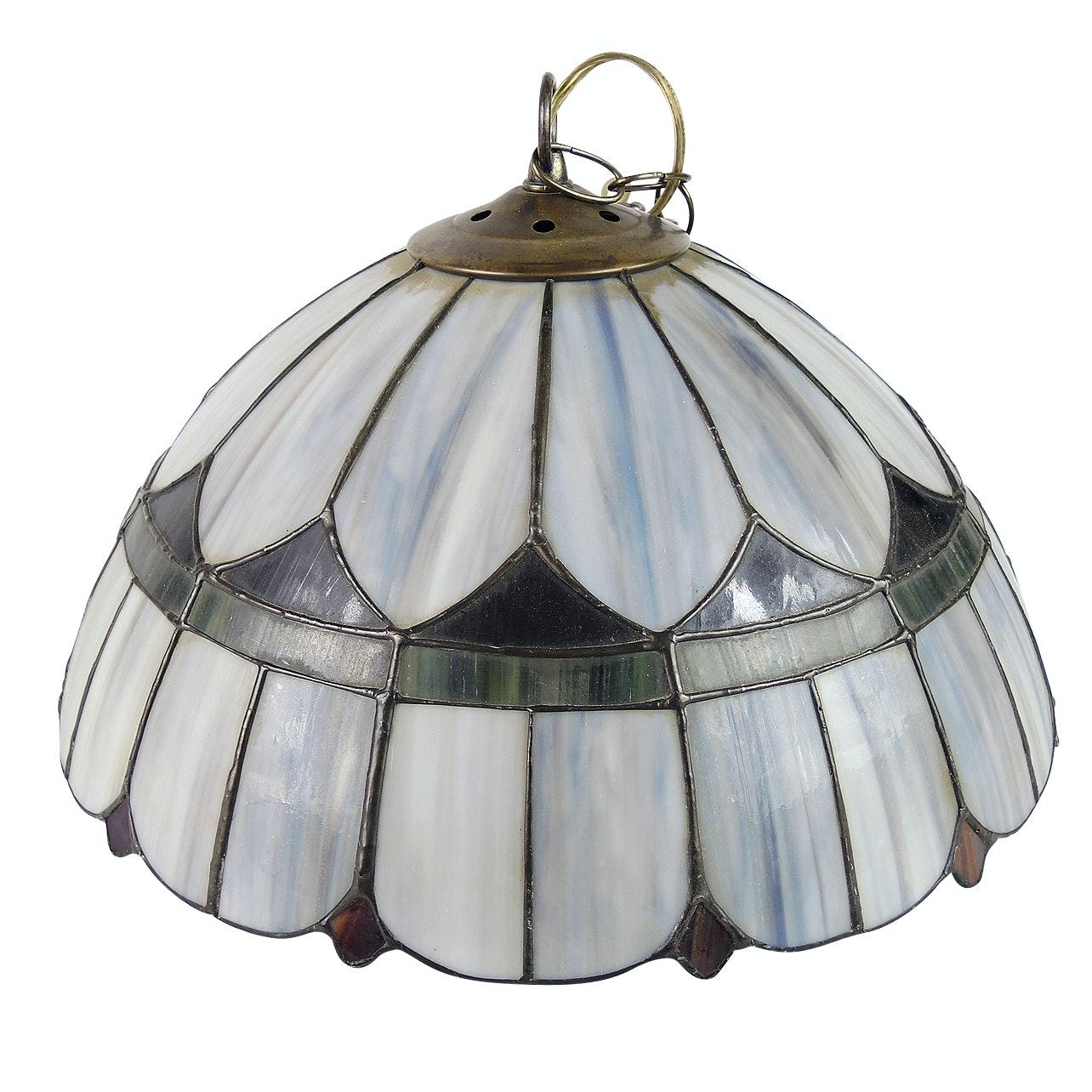 Slag Glass Pendant Lamp
