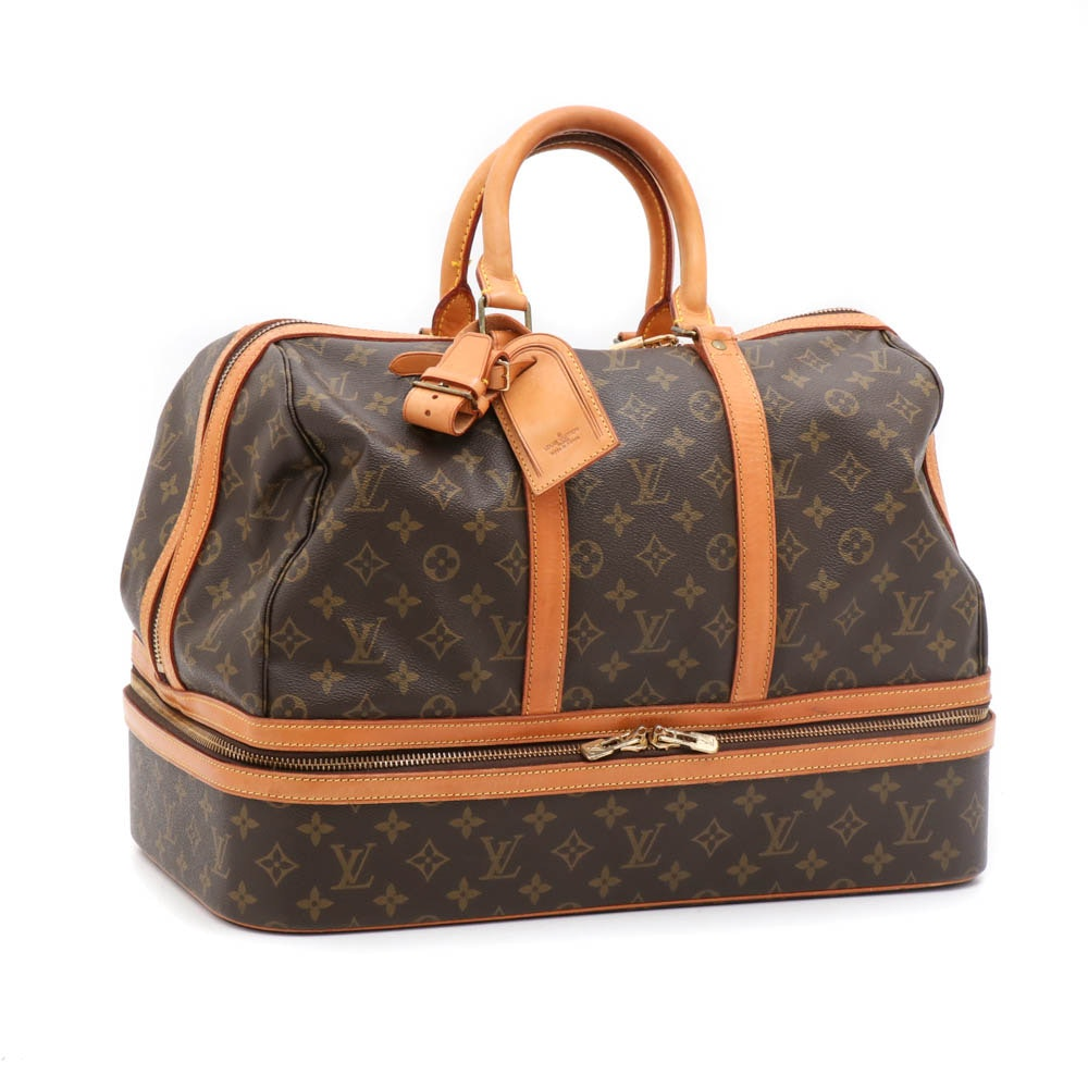 Louis Vuitton Paris Monogram Canvas Duffle Sac Sport Carry-On Weekender Bag