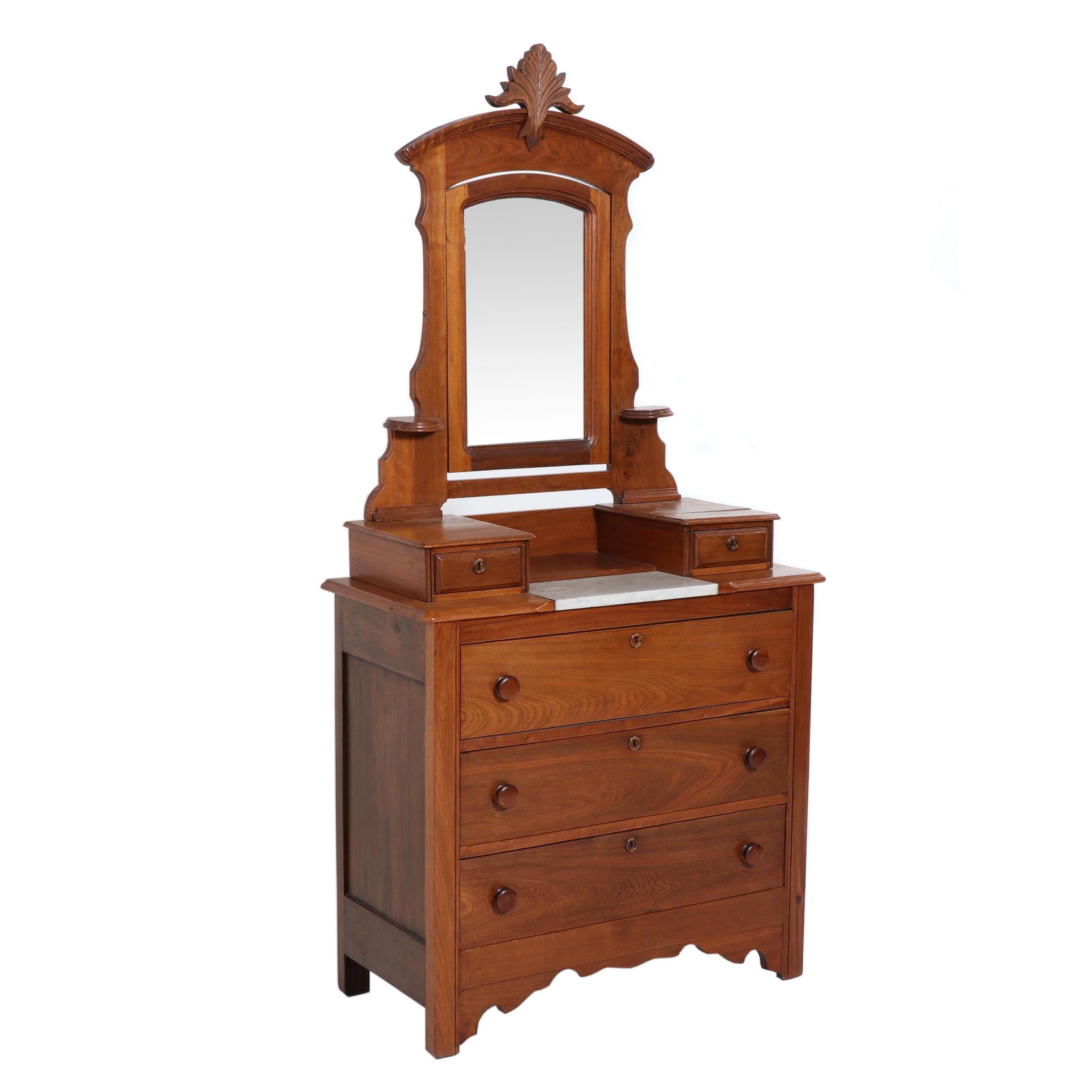Wood Vintage Reproduction Washstand