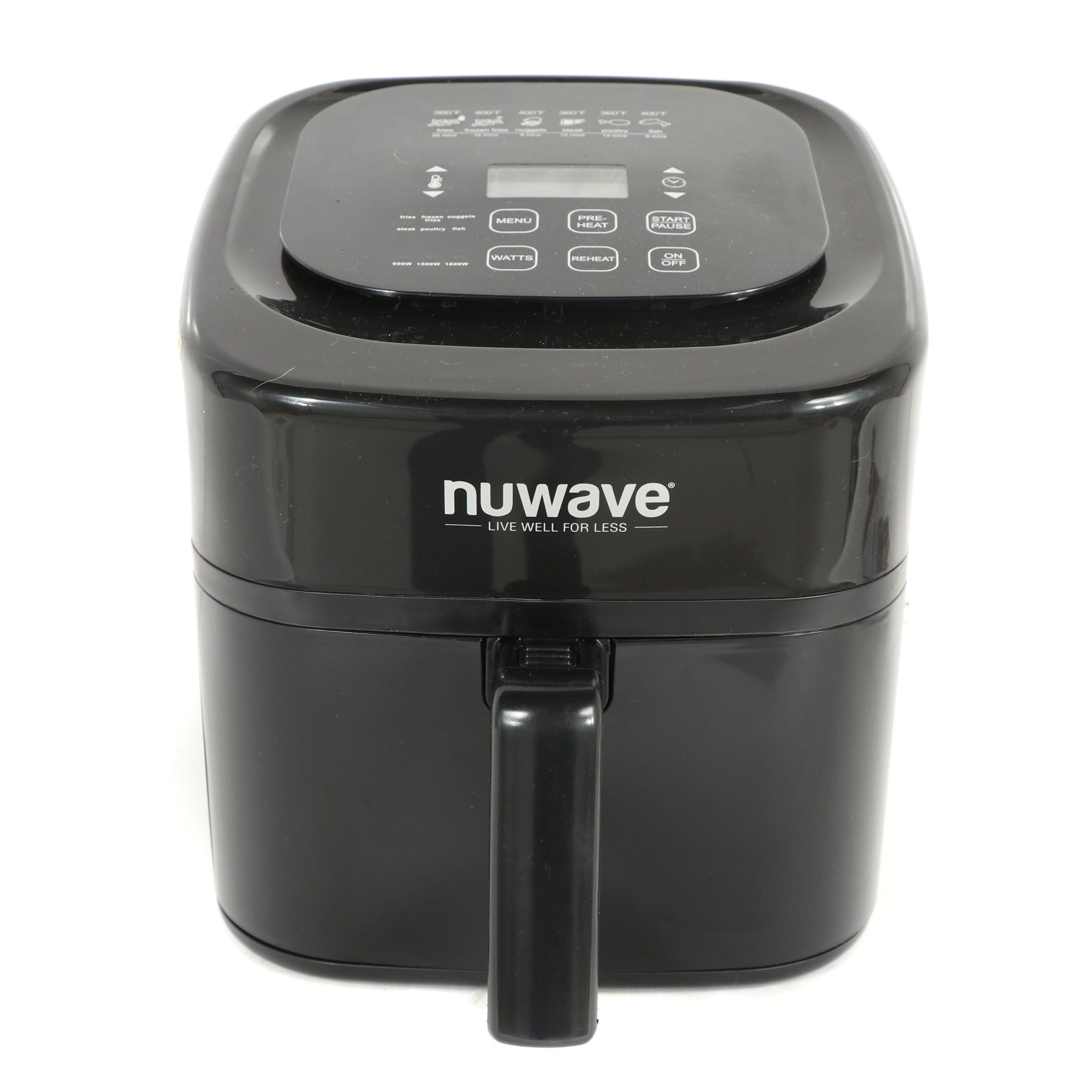 "NuWave ""Brio"" 6 Qt. Digital Air Fryer"