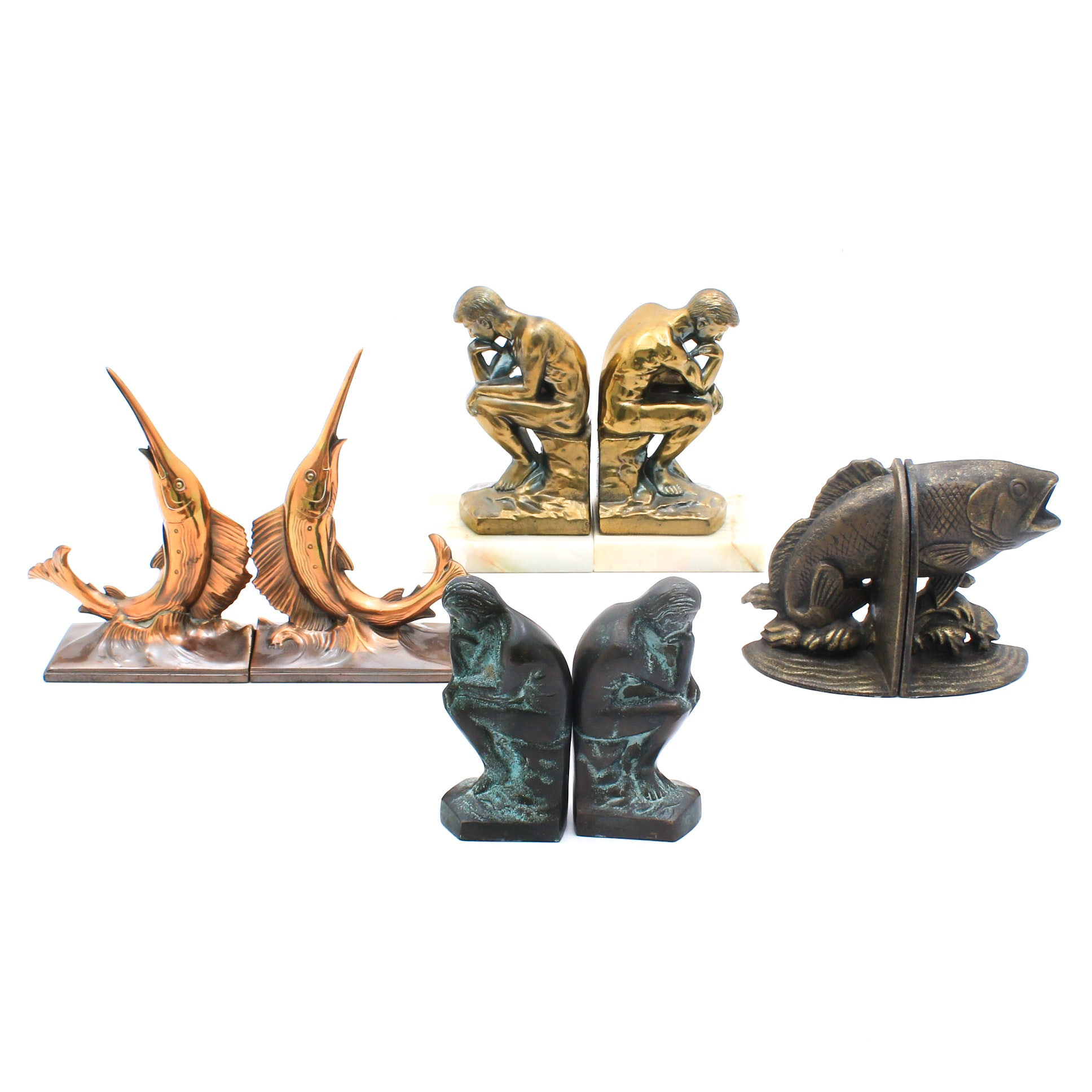 Metal Bookend Assortment