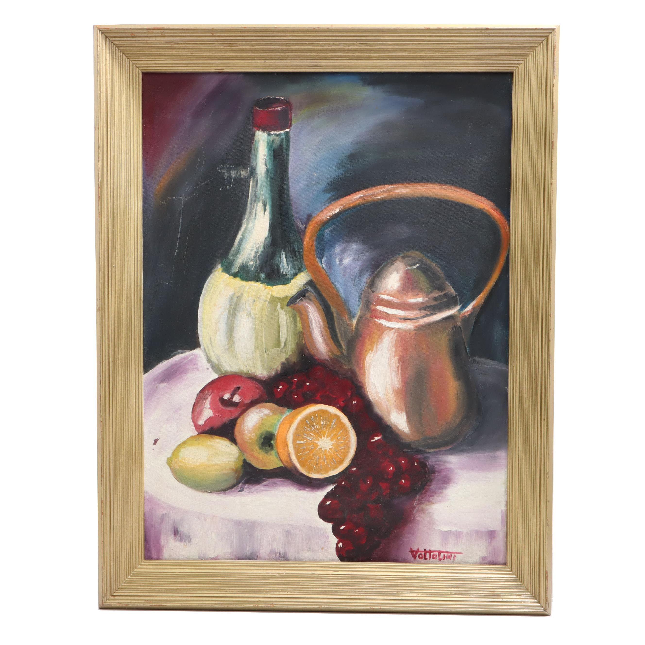 Vottolini Still Life Oil Painting