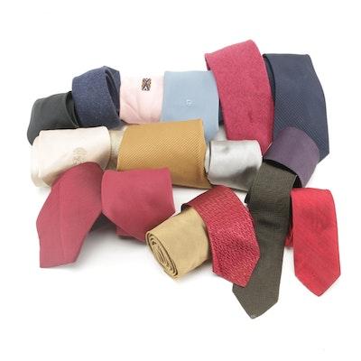 8fba4e2a1eb Men's Neckties Including Yves Saint Laurent and Pierre Cardin, Vintage