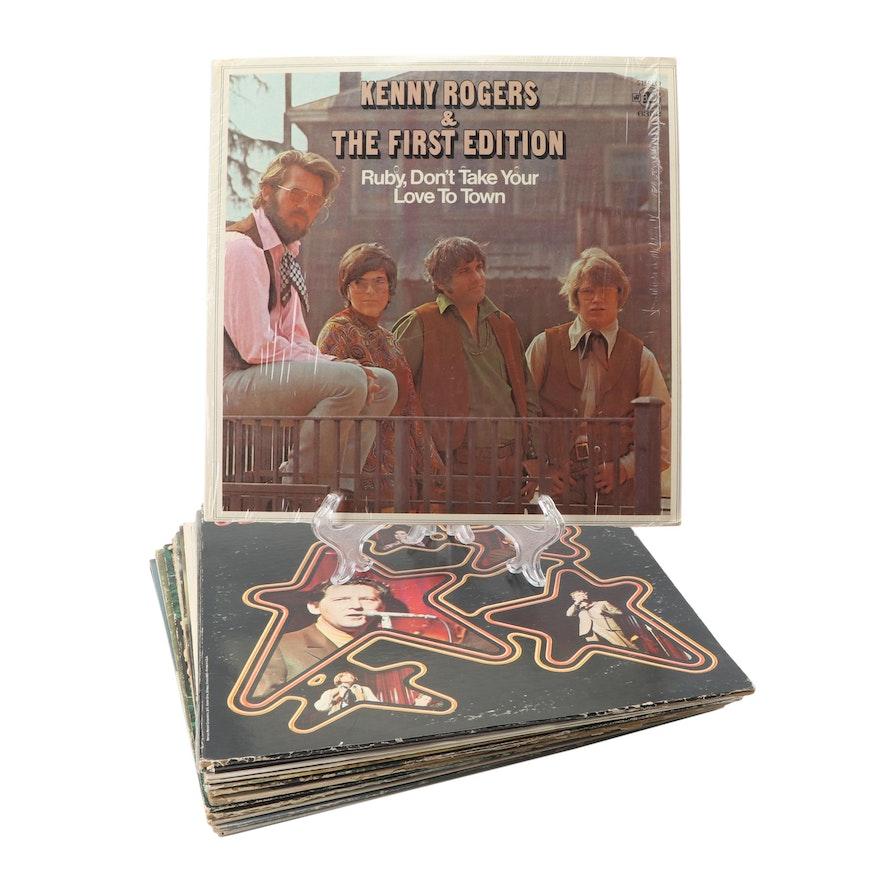 Vinyl Record Album Assortment