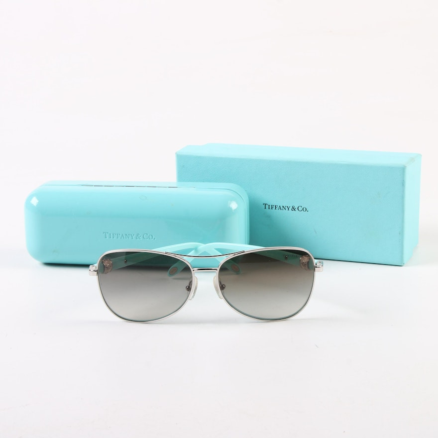 b38e38acf951 Tiffany   Co. TF 3036-B Sunglasses with Case and Accessories