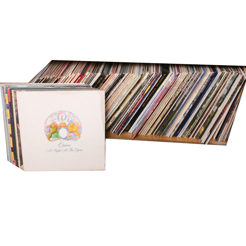 Vinyl Records Featuring The Doors, Cat Stevens, Fleetwood Mac and Queen