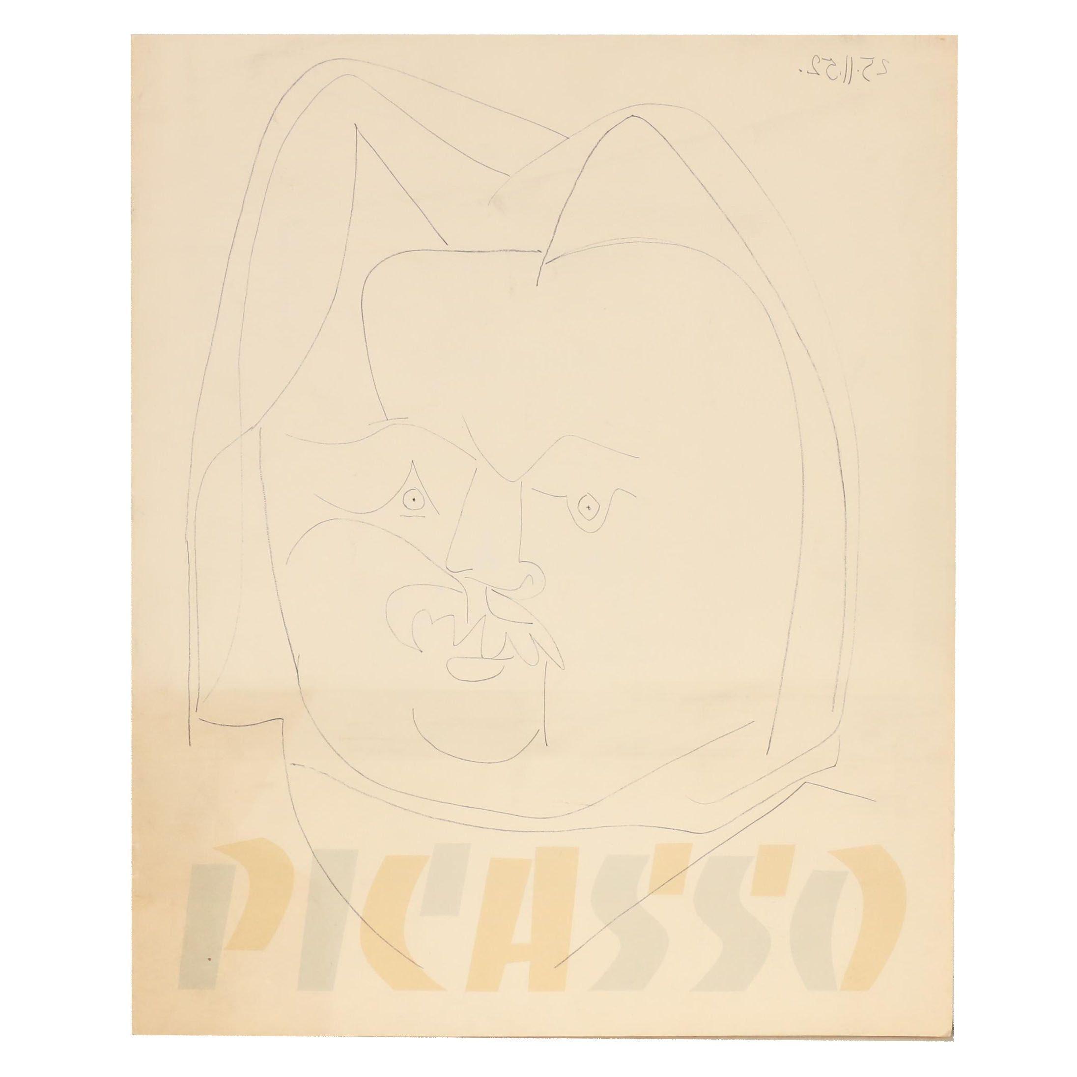 Cincinnati Art Museum Catalog for 1959 Pablo Picasso Lithograph Exhibition