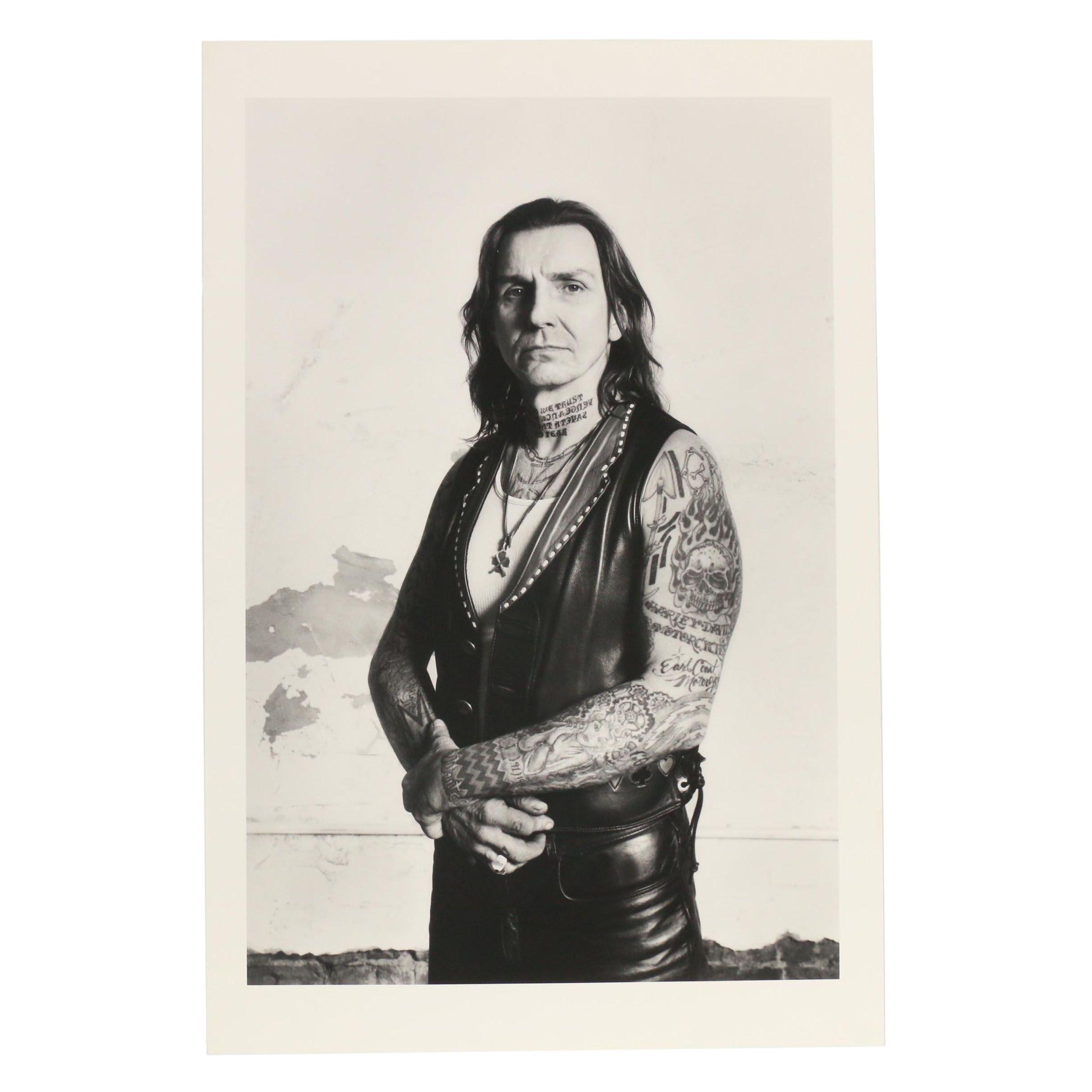 """John Wyatt Archival Inkjet Print """"Indian Larry"""""""