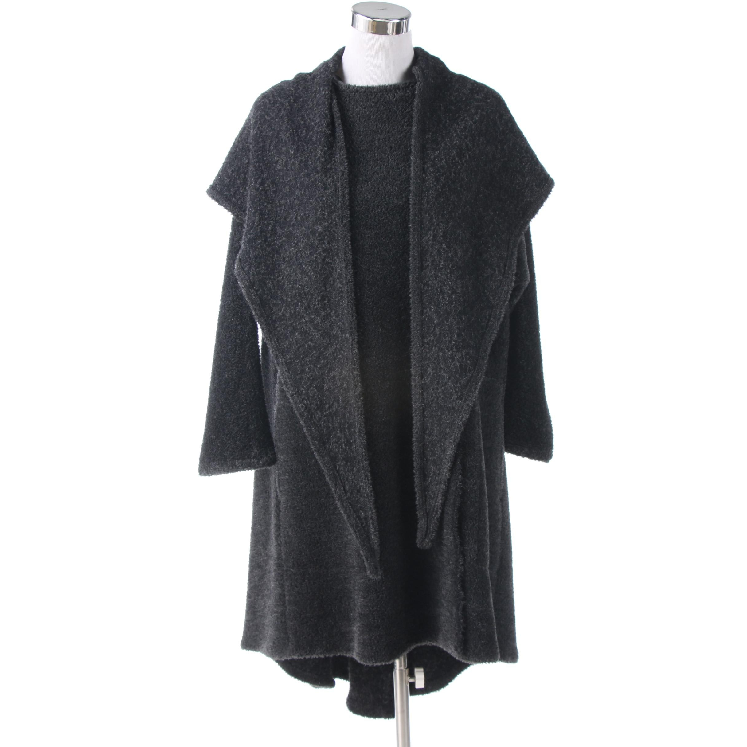 YEOHLEE New York Hooded Alpaca Wool Blend Cape Coat