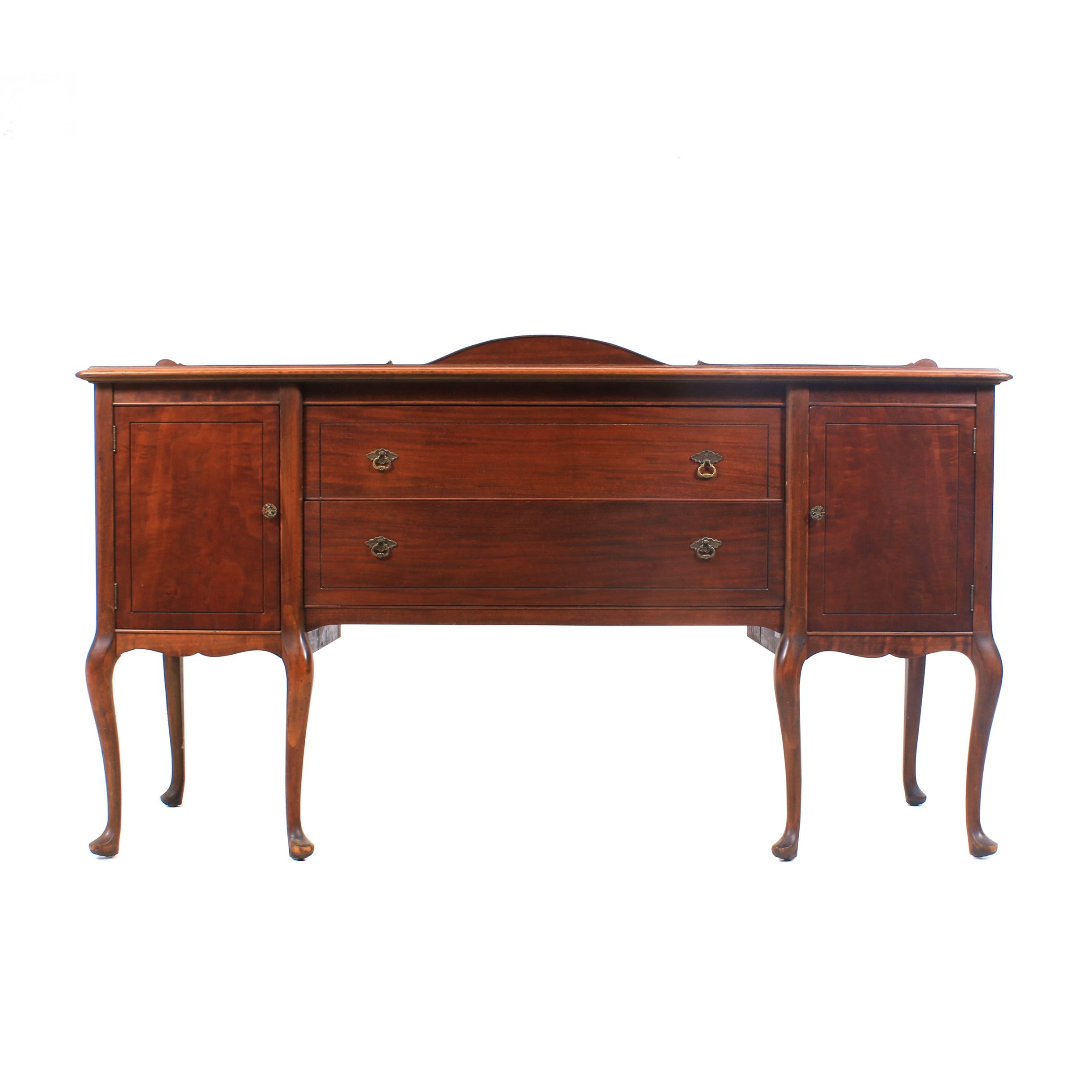 Chippendale Style Vintage Wood Sideboard