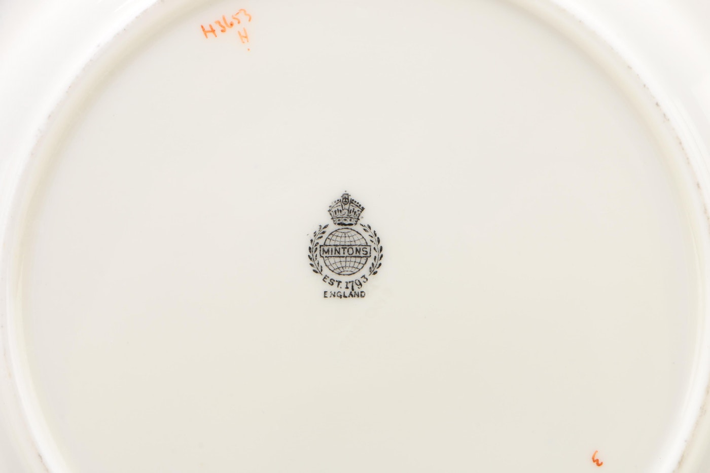 Minton Bone China Luncheon Plates, Circa 1912–1950