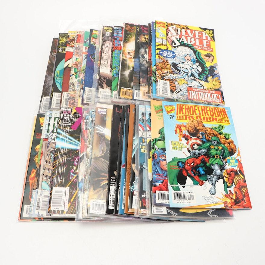 Modern Age Marvel Comic Books