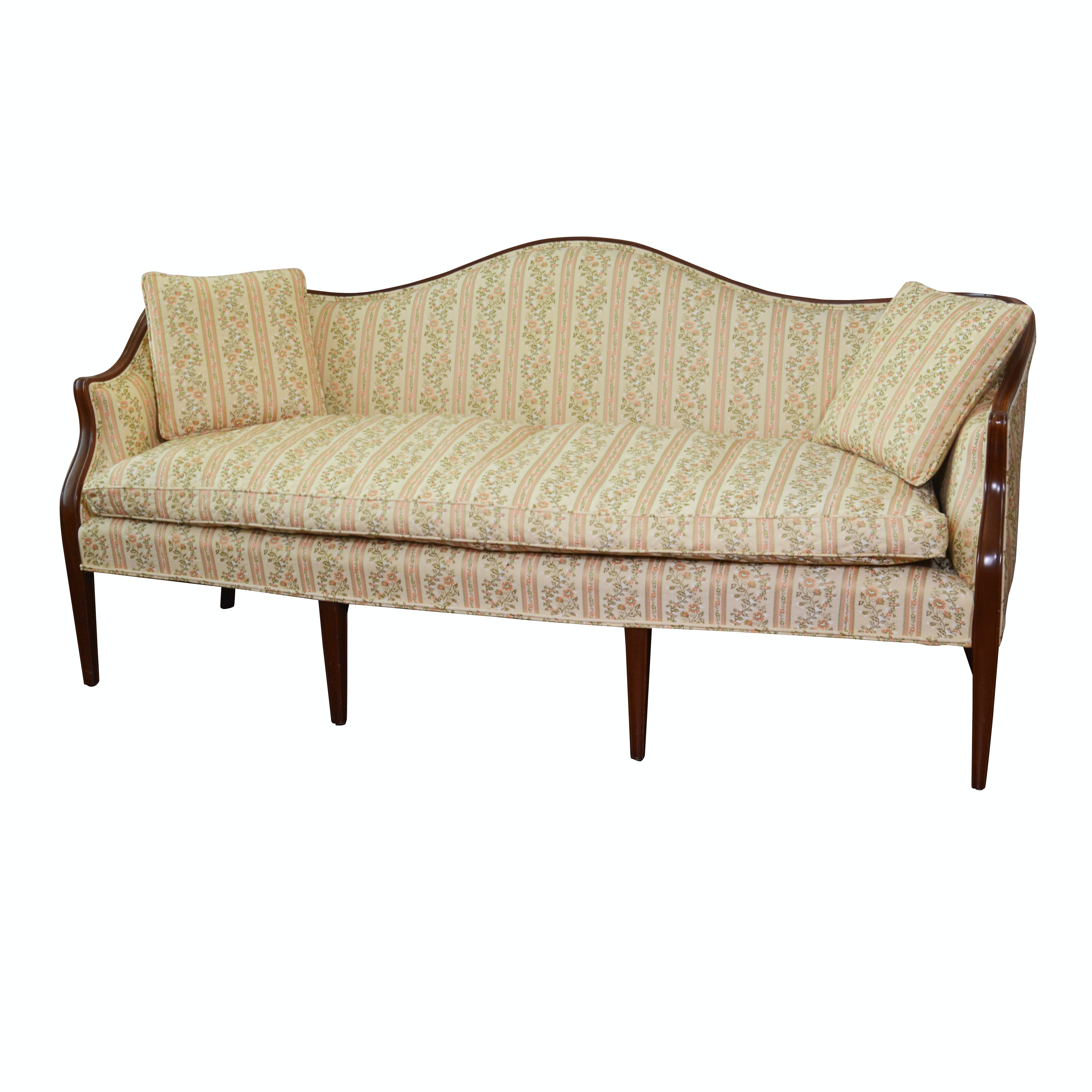 "Kittinger ""Old Dominion Collection"" Camelback Sofa, Contemporary"