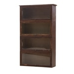 Four Bay Birch Barrister's Bookcase