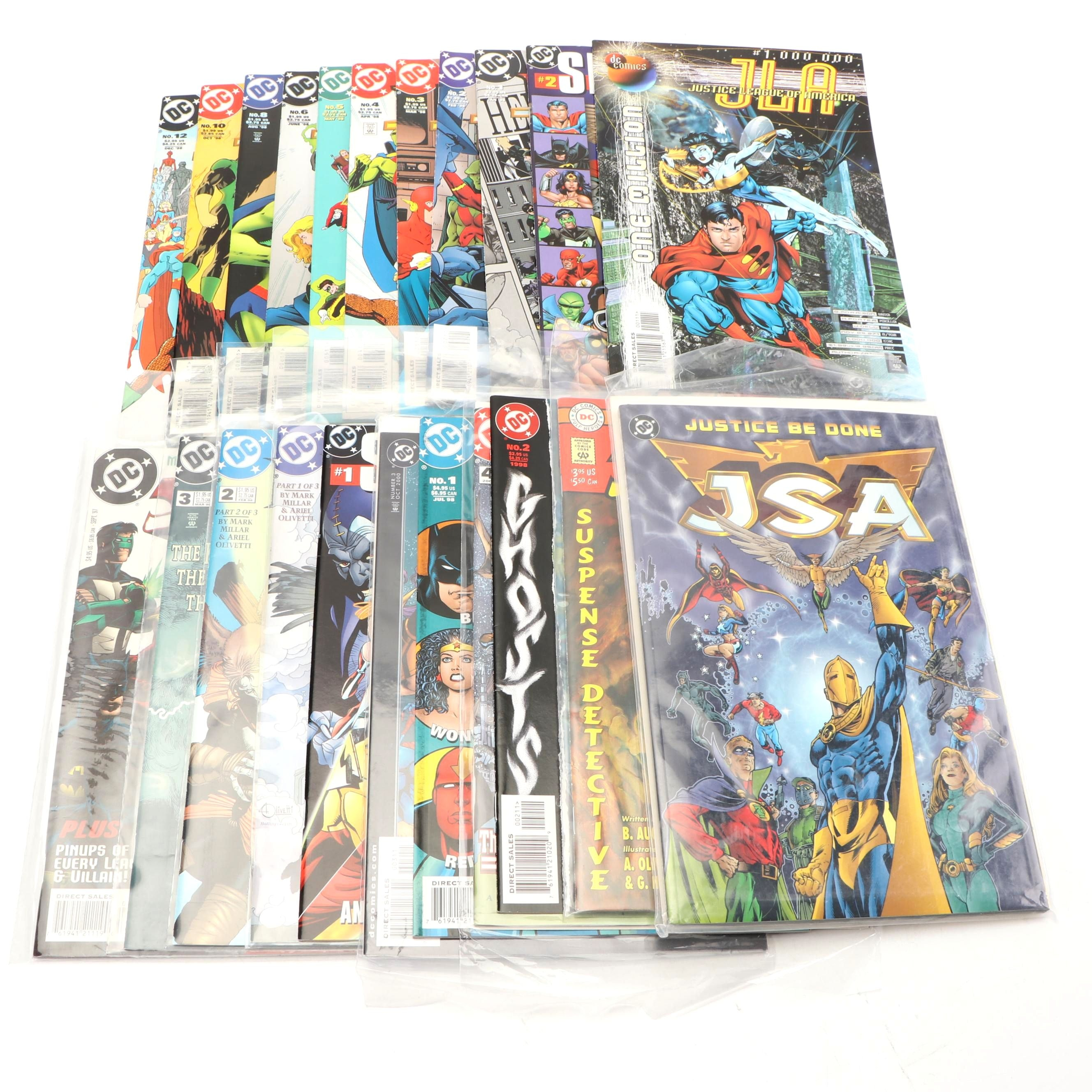 "Modern Age "" JLA"" Comic Books"