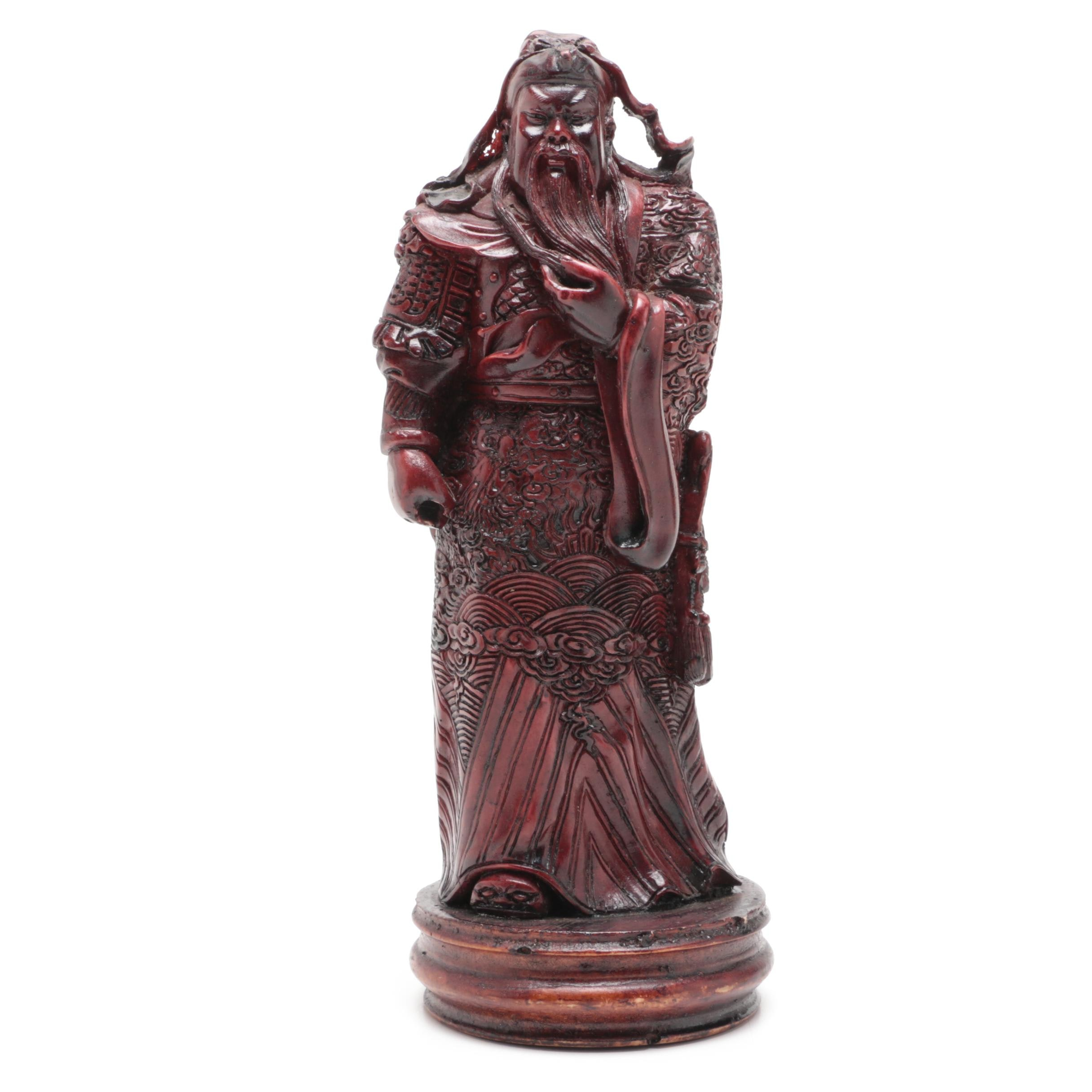 Chinese Cast Resin Sculpture