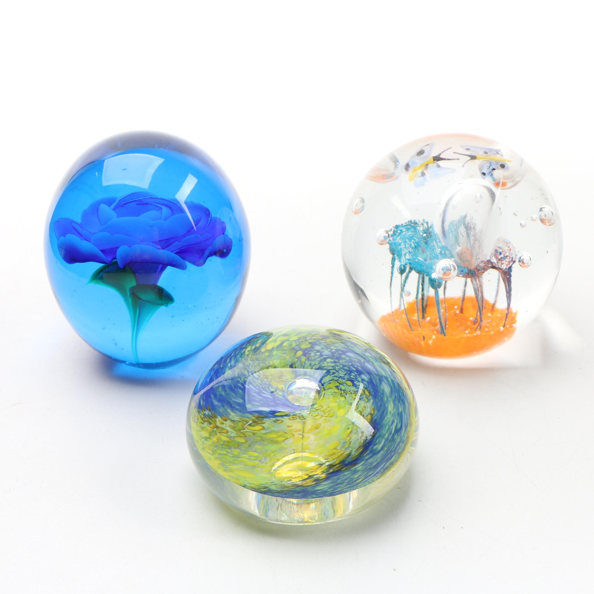 Art Glass Paperweights