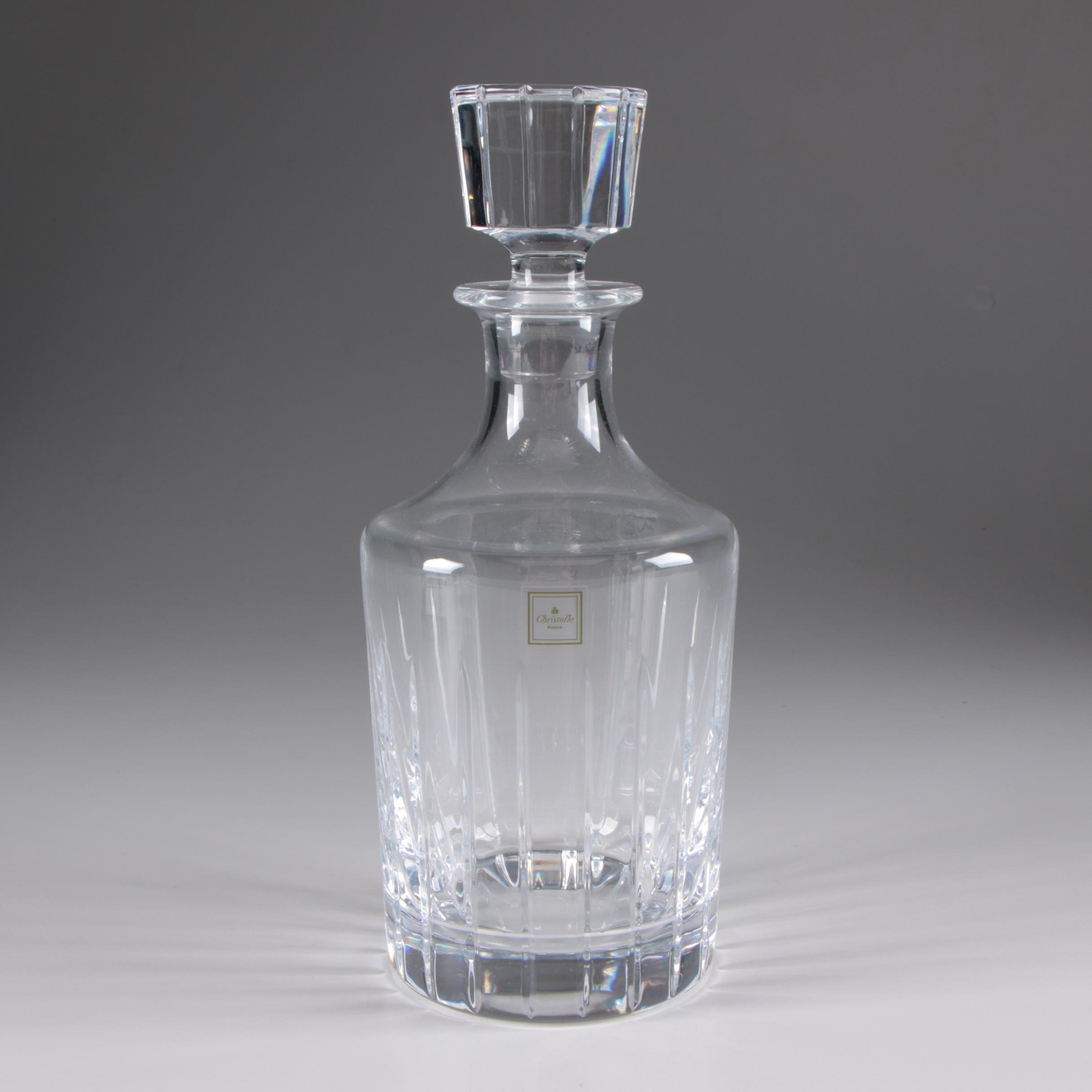 Christofle Crystal Decanter