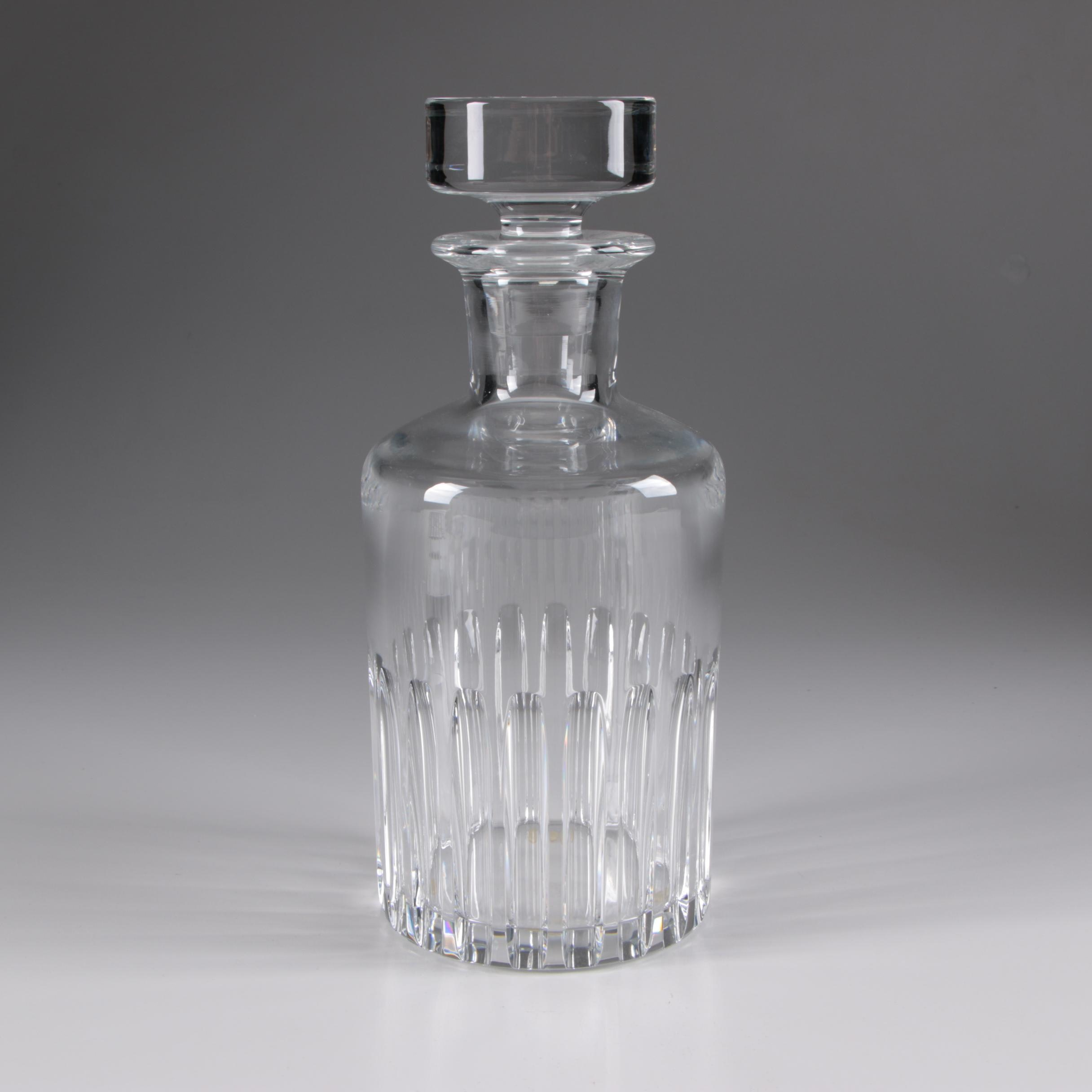 "Baccarat ""Rotary"" Crystal Decanter"