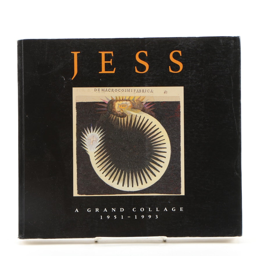 "1993 ""Jess: A Grand Colalge 1951–1993"" Edited by Karen Lee Spaulding"